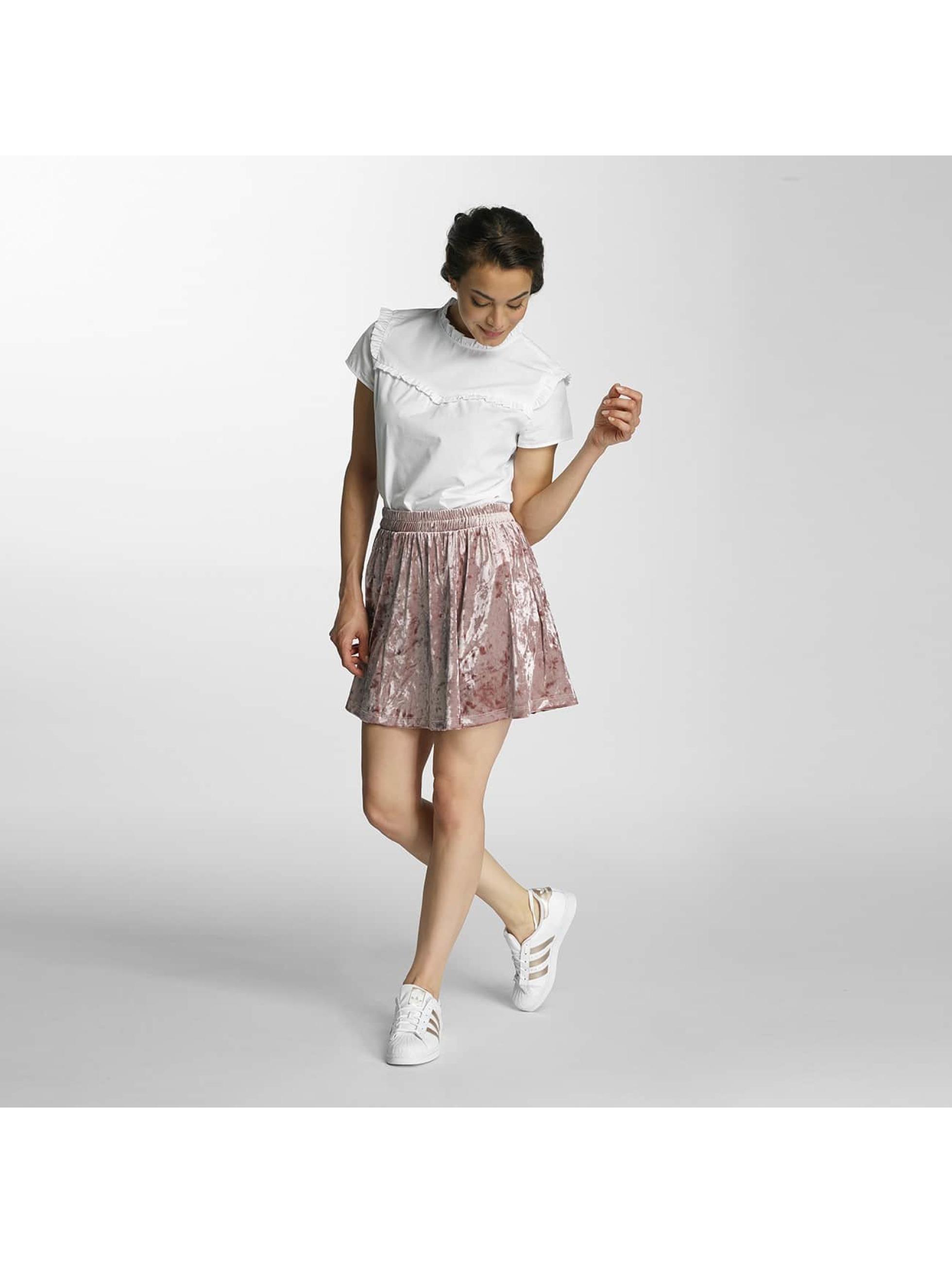 Only Skirt onlPunti Velour Skater rose