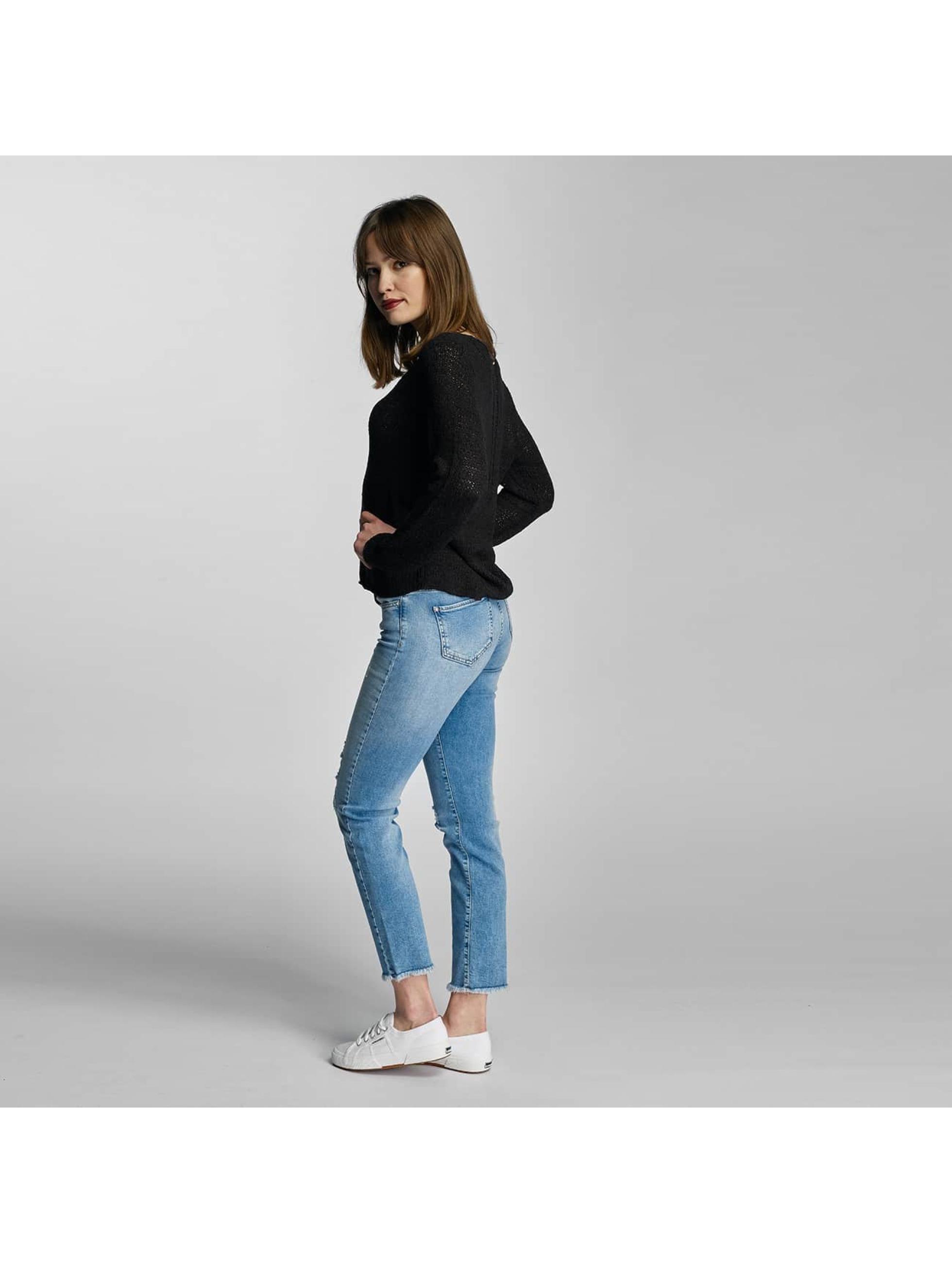 Only Slim Fit Jeans onlSui Regular Ankle modrá