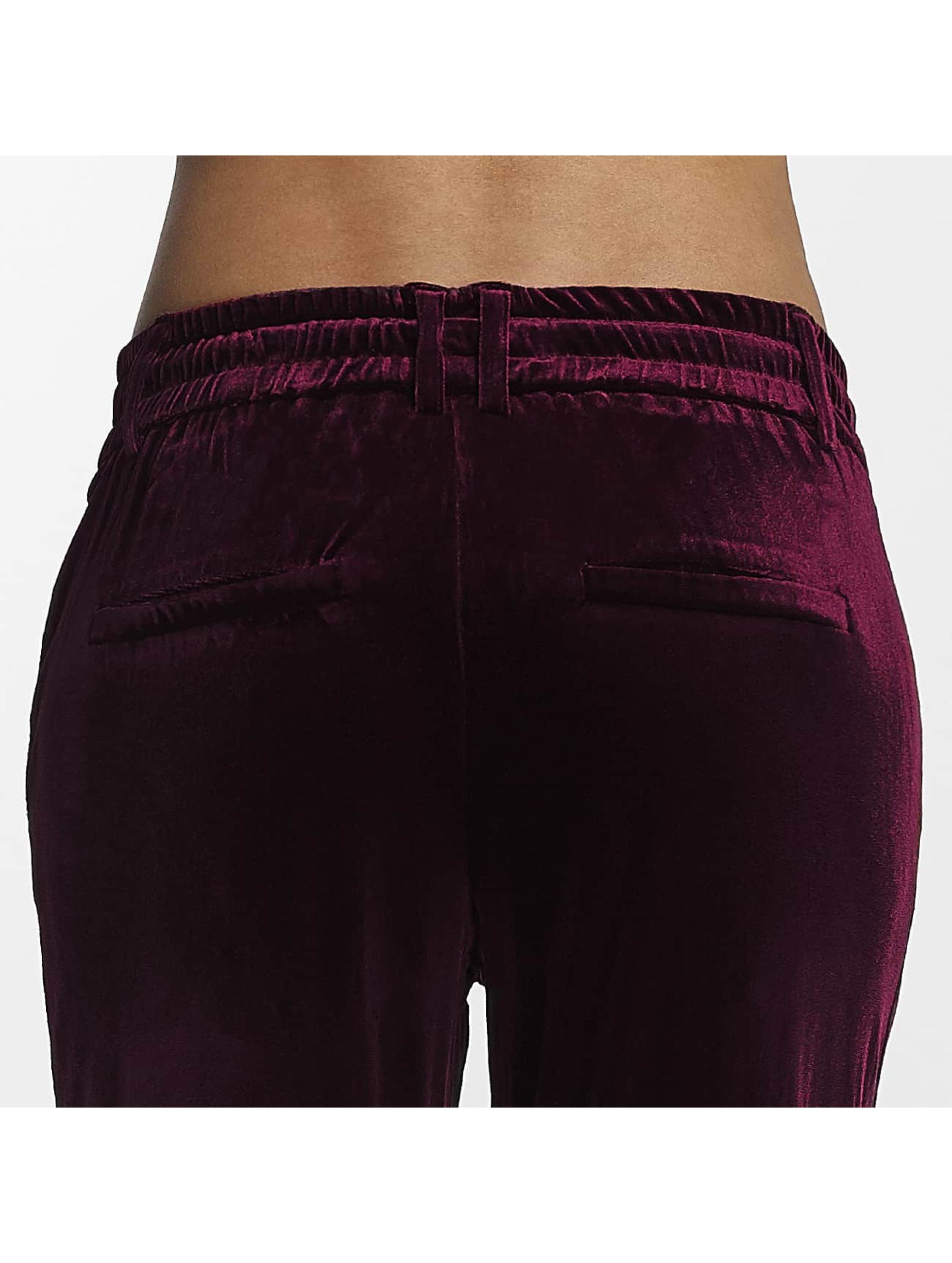 Only Spodnie do joggingu onlPoptrash czerwony