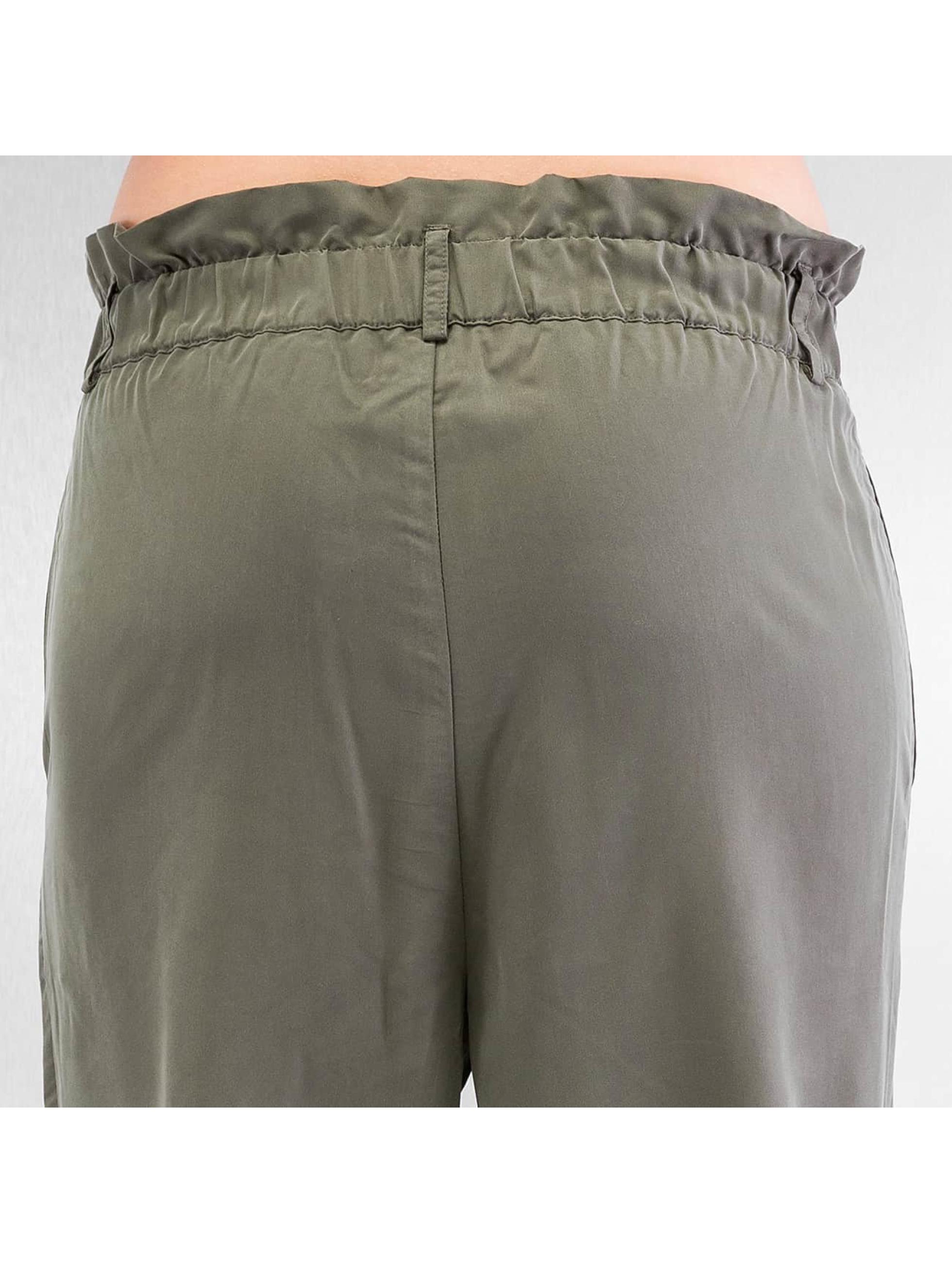 Only Spodnie wizytowe stuNim oliwkowy