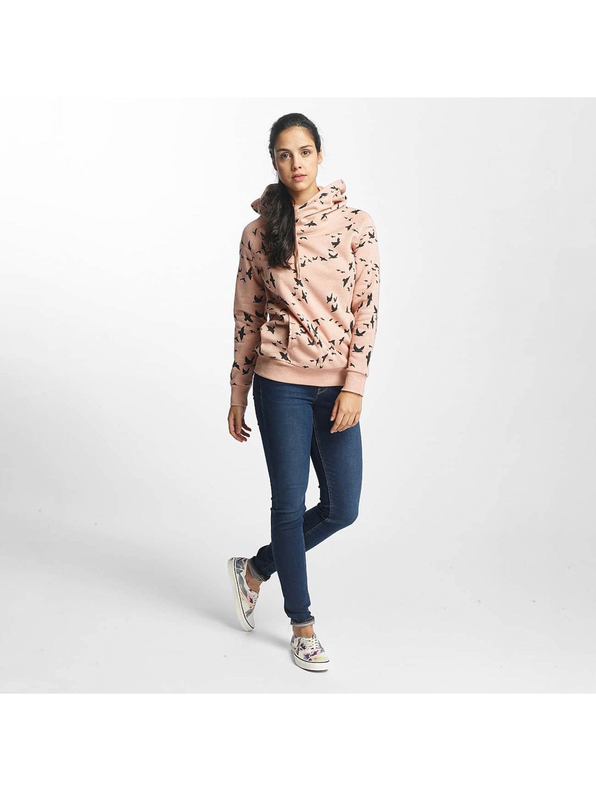 Only Sweat capuche onlJalene Dot rose