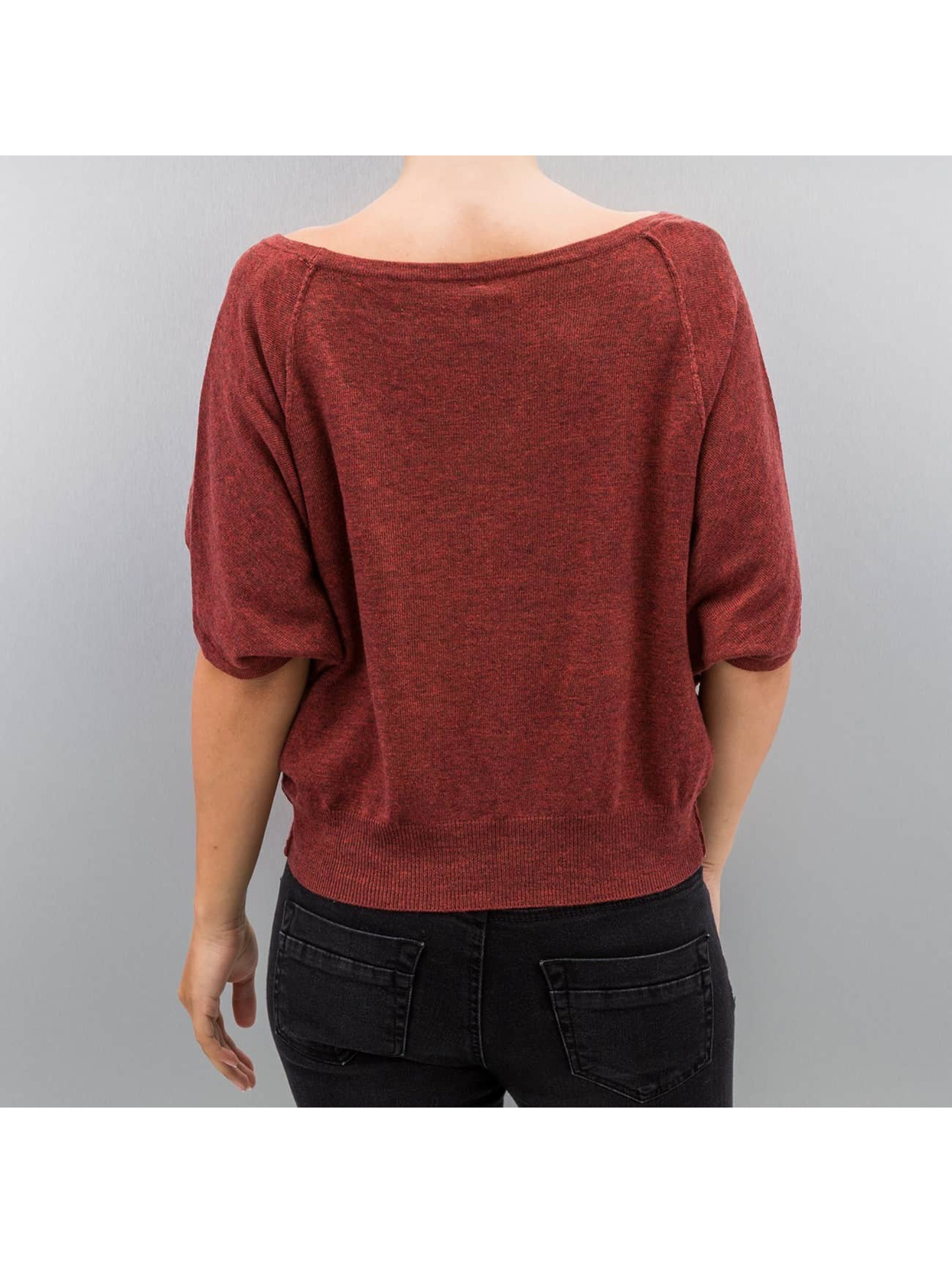 Only Swetry onlKareen 3/4 Oversize czerwony