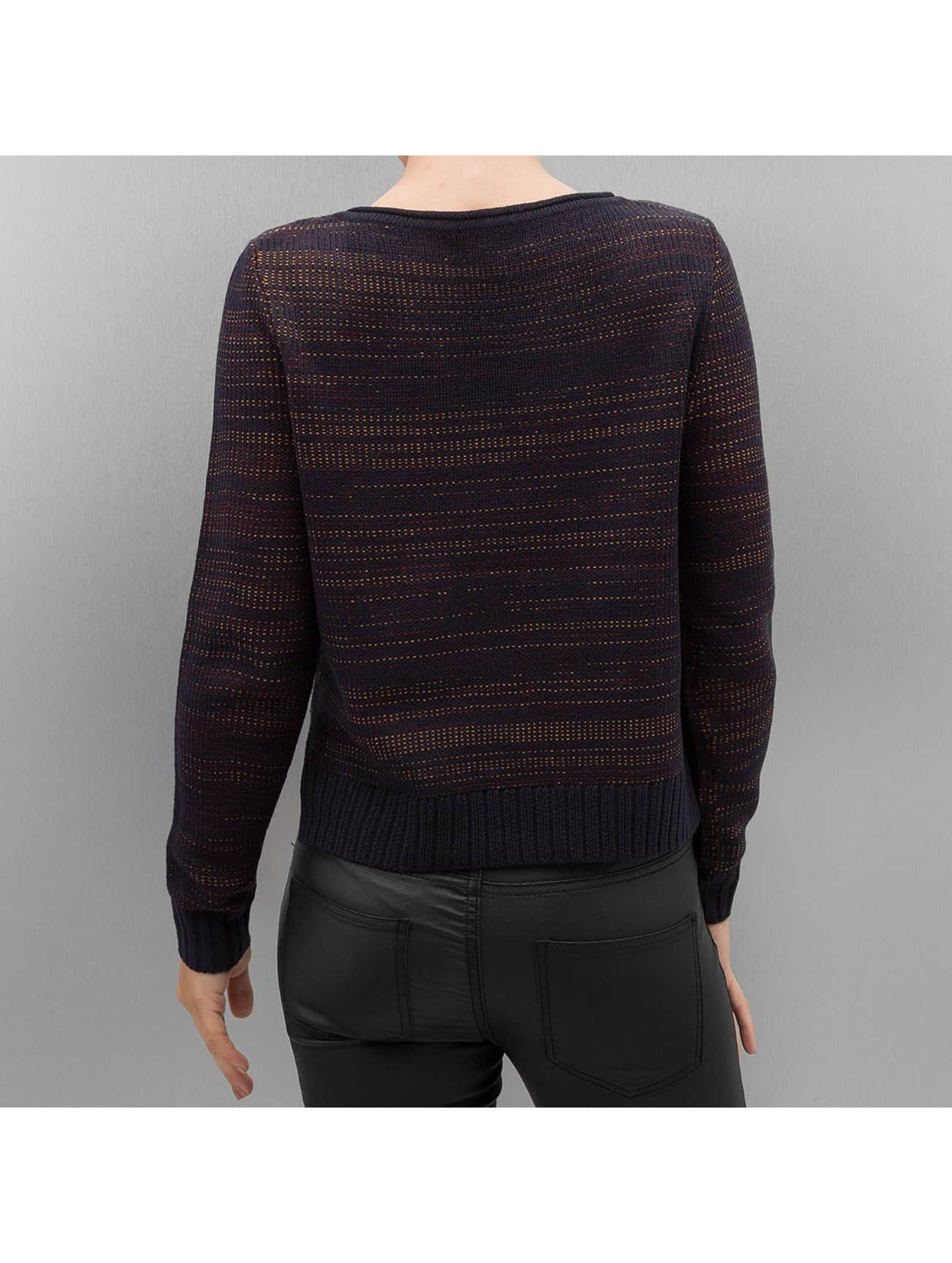 Only Swetry onlCamella Knit niebieski