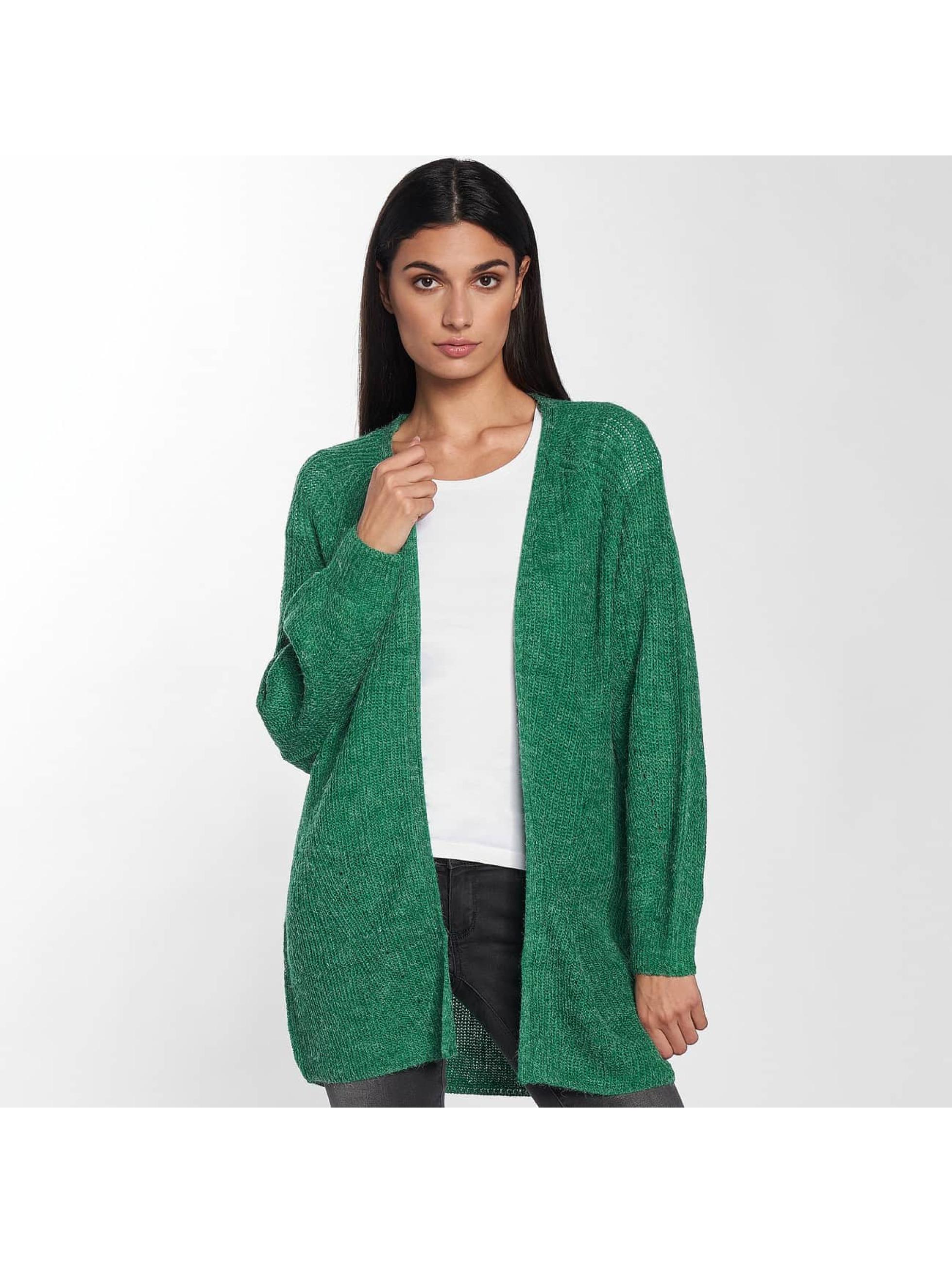 Only Swetry rozpinane onlMonika Long zielony