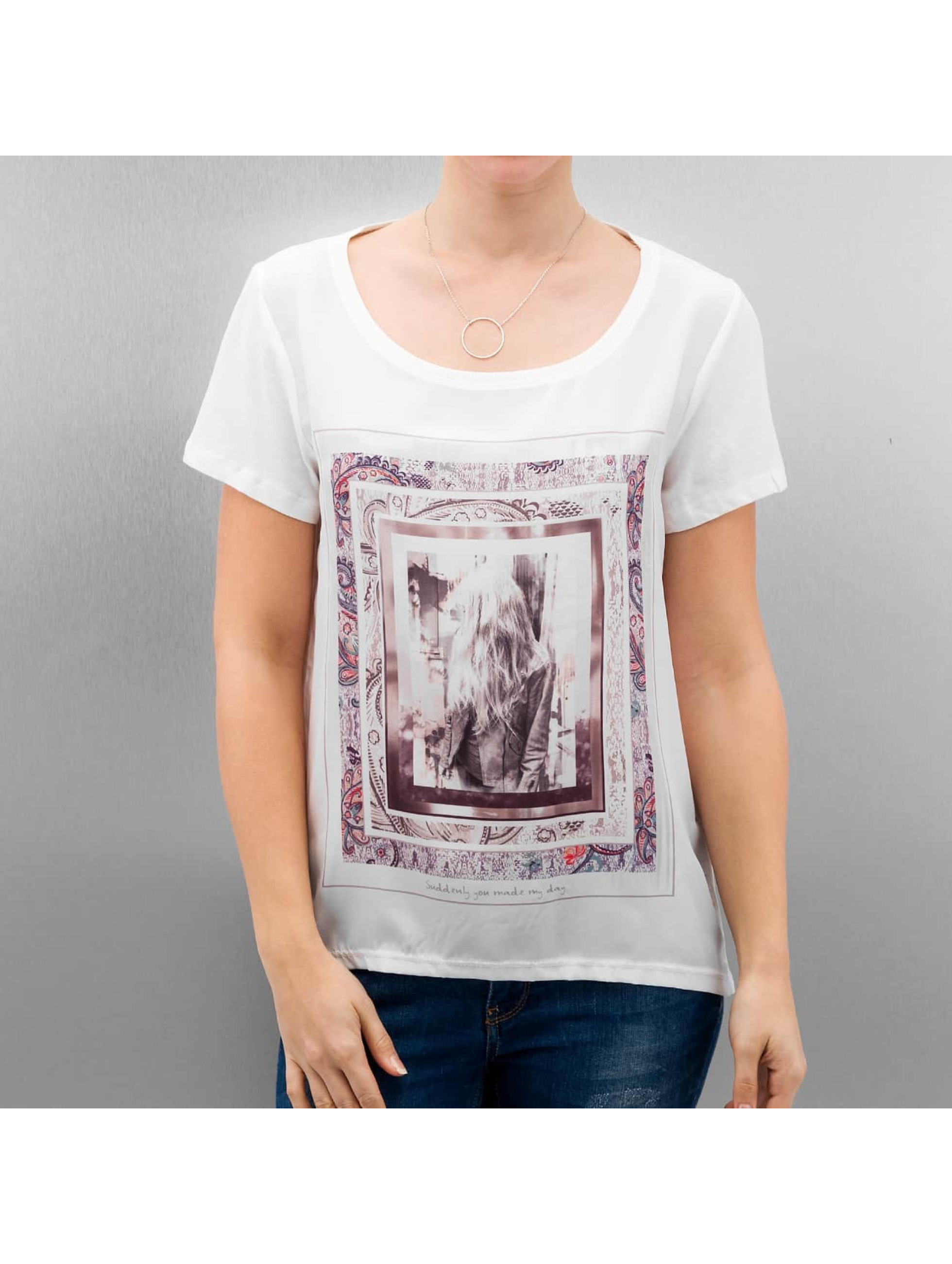 Only T-Shirt onlRhina blanc