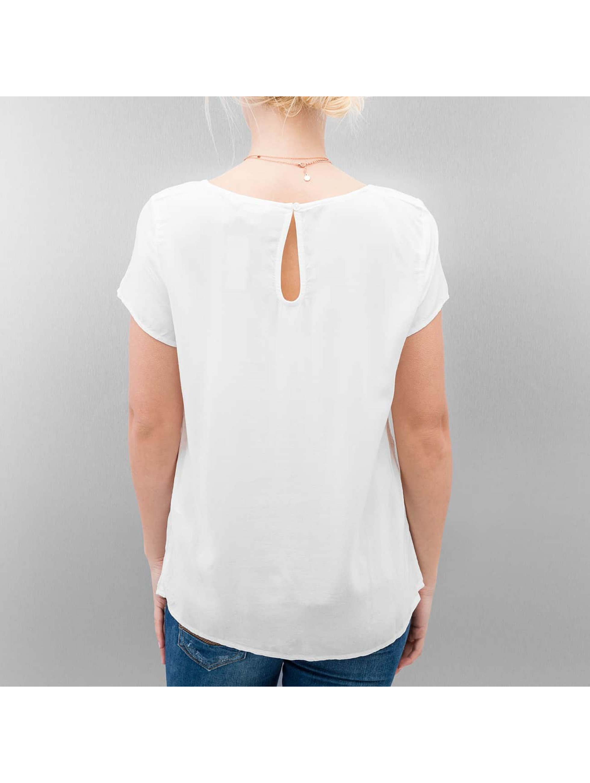 Only T-Shirt Geggo Basic blanc