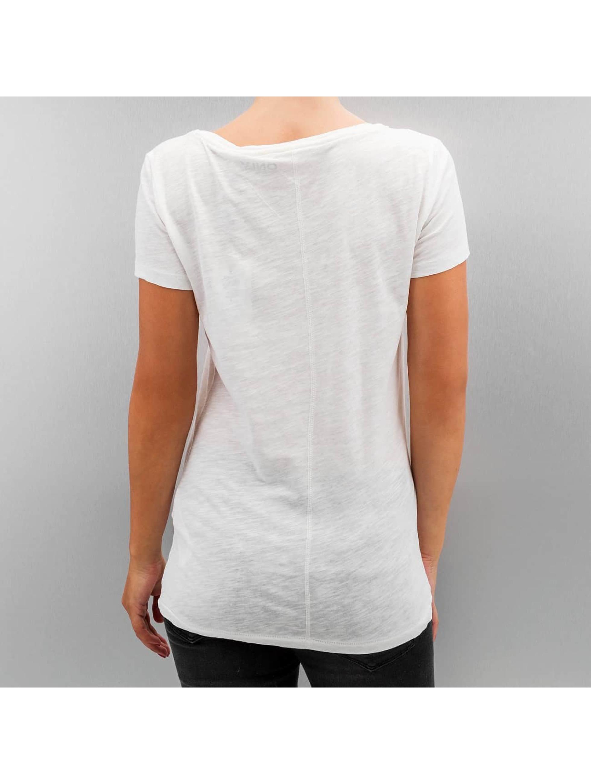 Only T-Shirt onlBone blanc