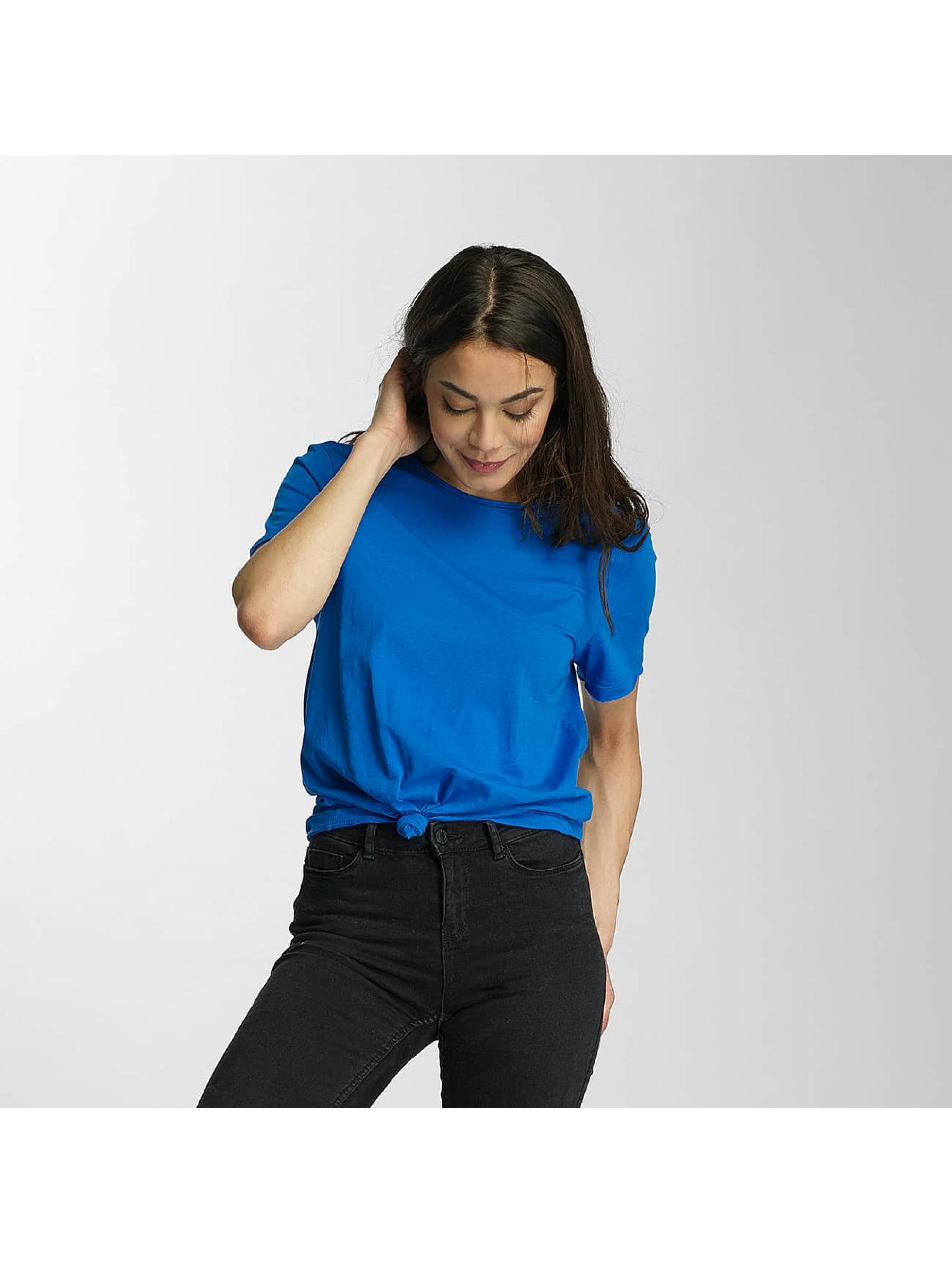 Only T-Shirt onlSassy Knot bleu
