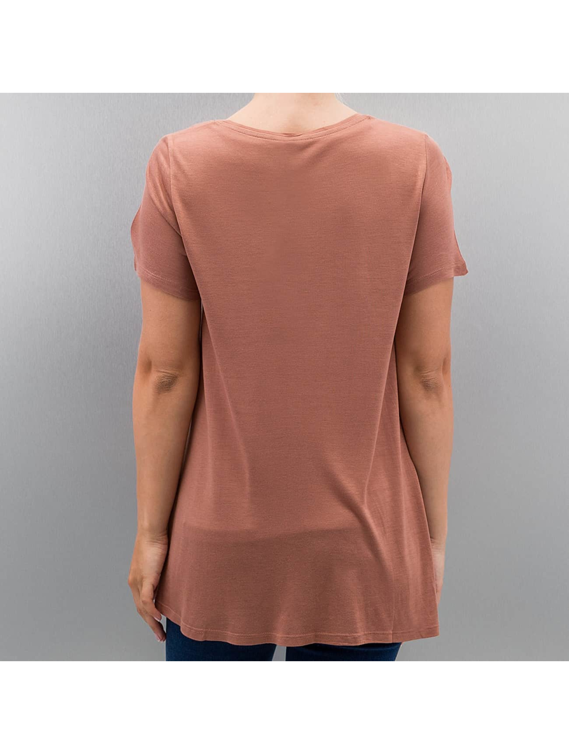 Only T-Shirt onlViscose brown