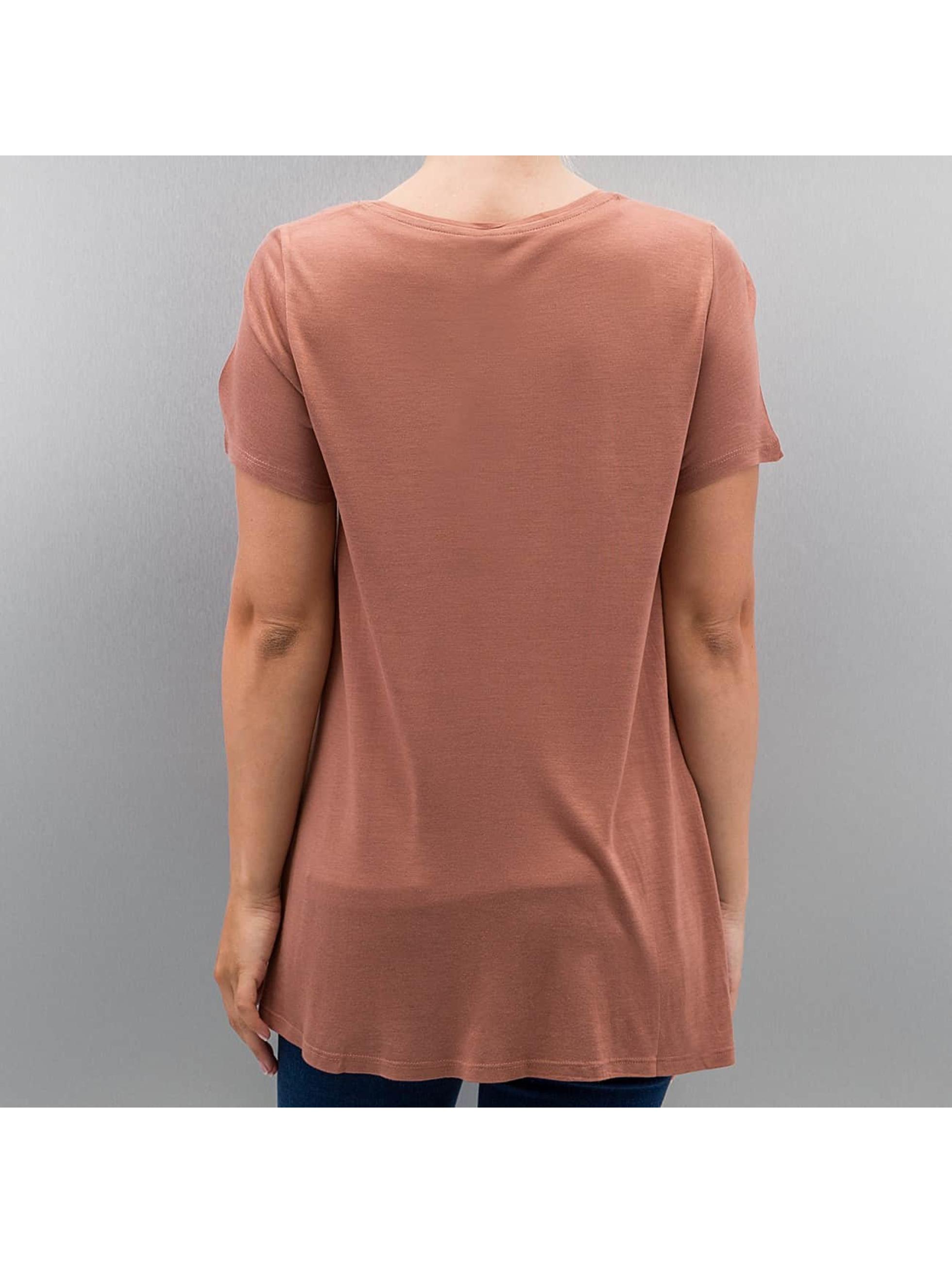 Only t-shirt onlViscose bruin