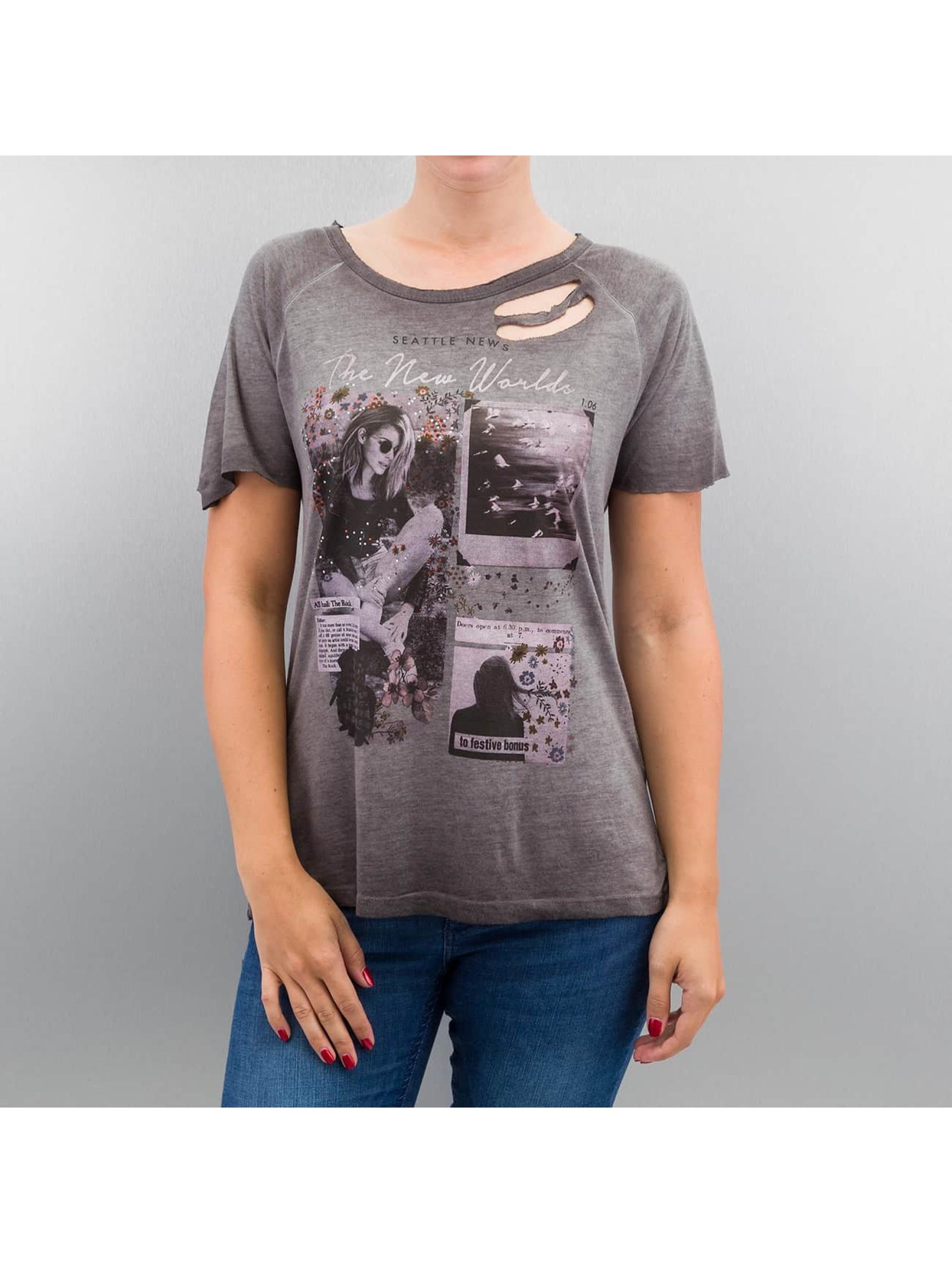Only T-Shirt onlLive grau
