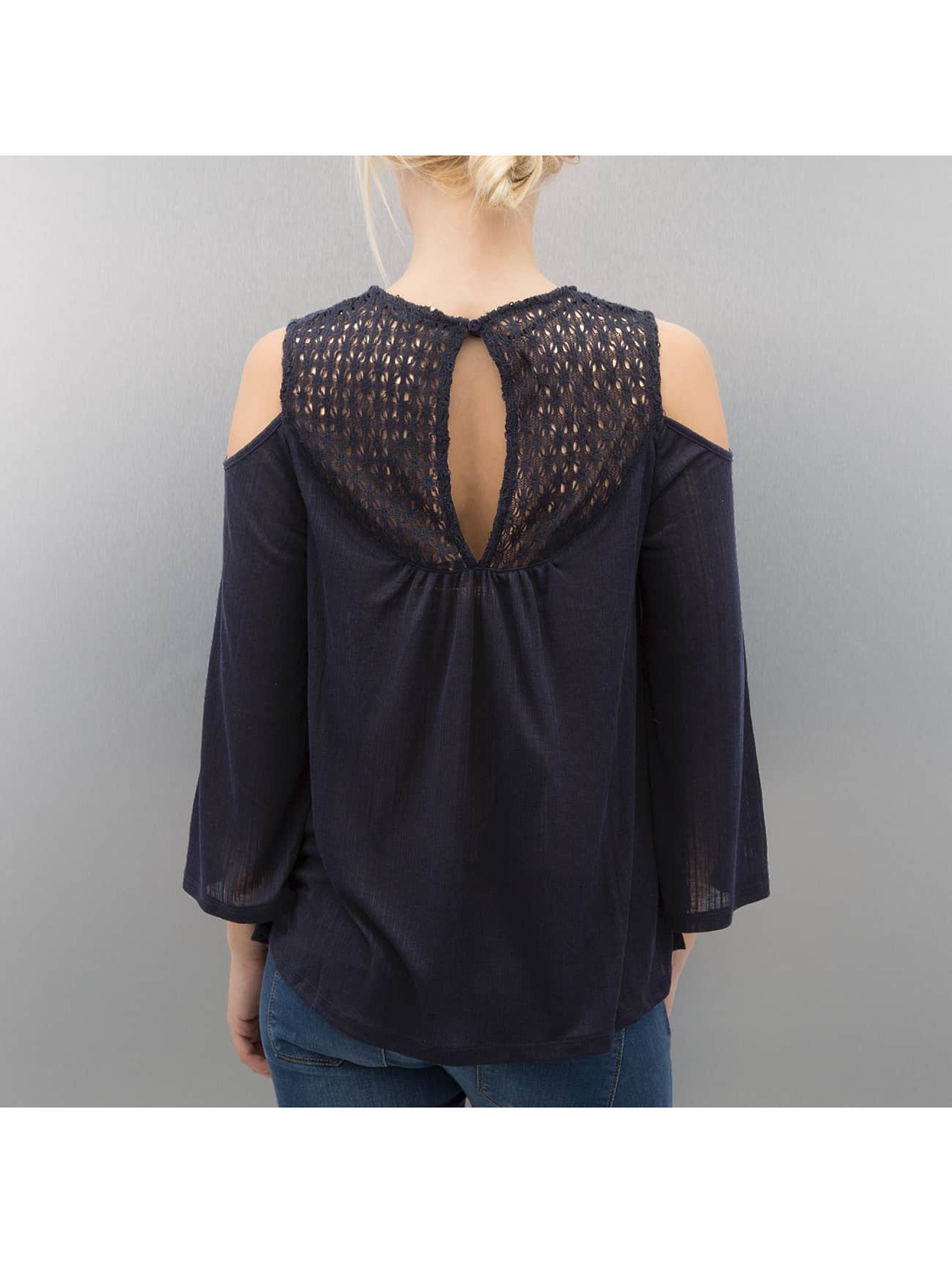 Only T-Shirt manches longues onlMie 3/4 bleu
