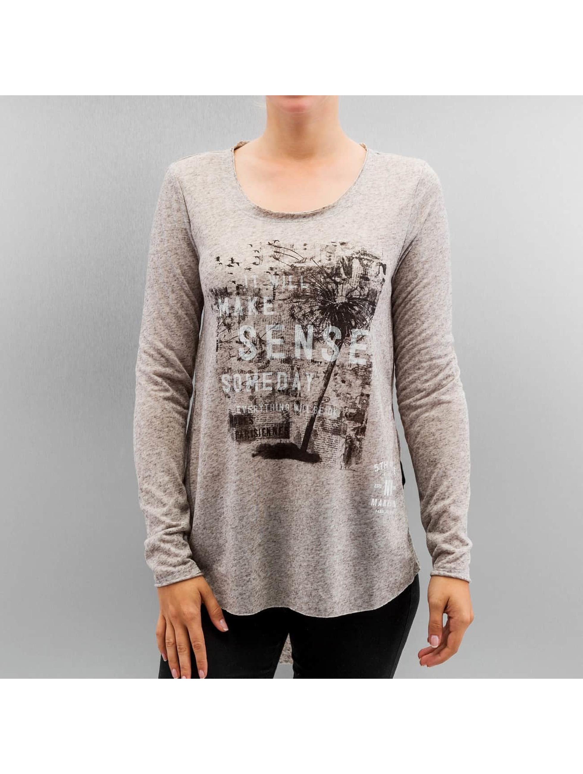 Only T-Shirt manches longues onlClara gris