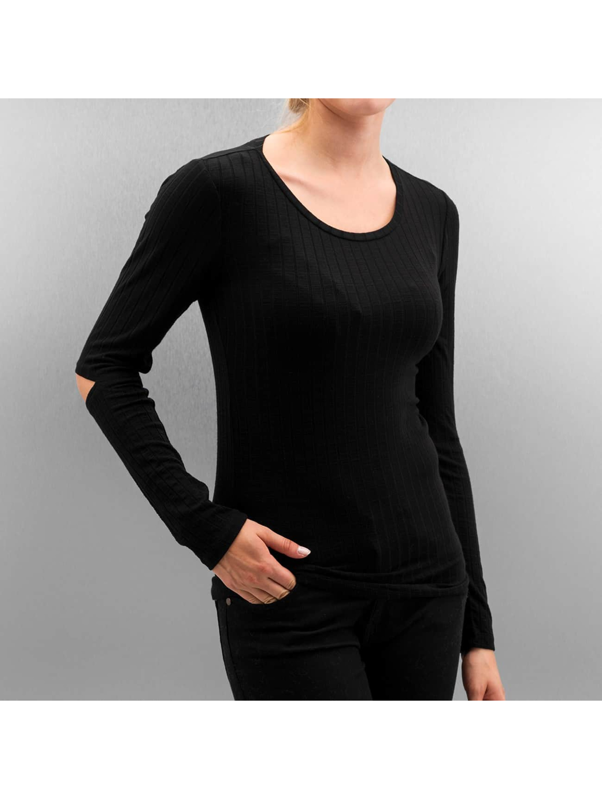 Only T-Shirt manches longues onlElina noir