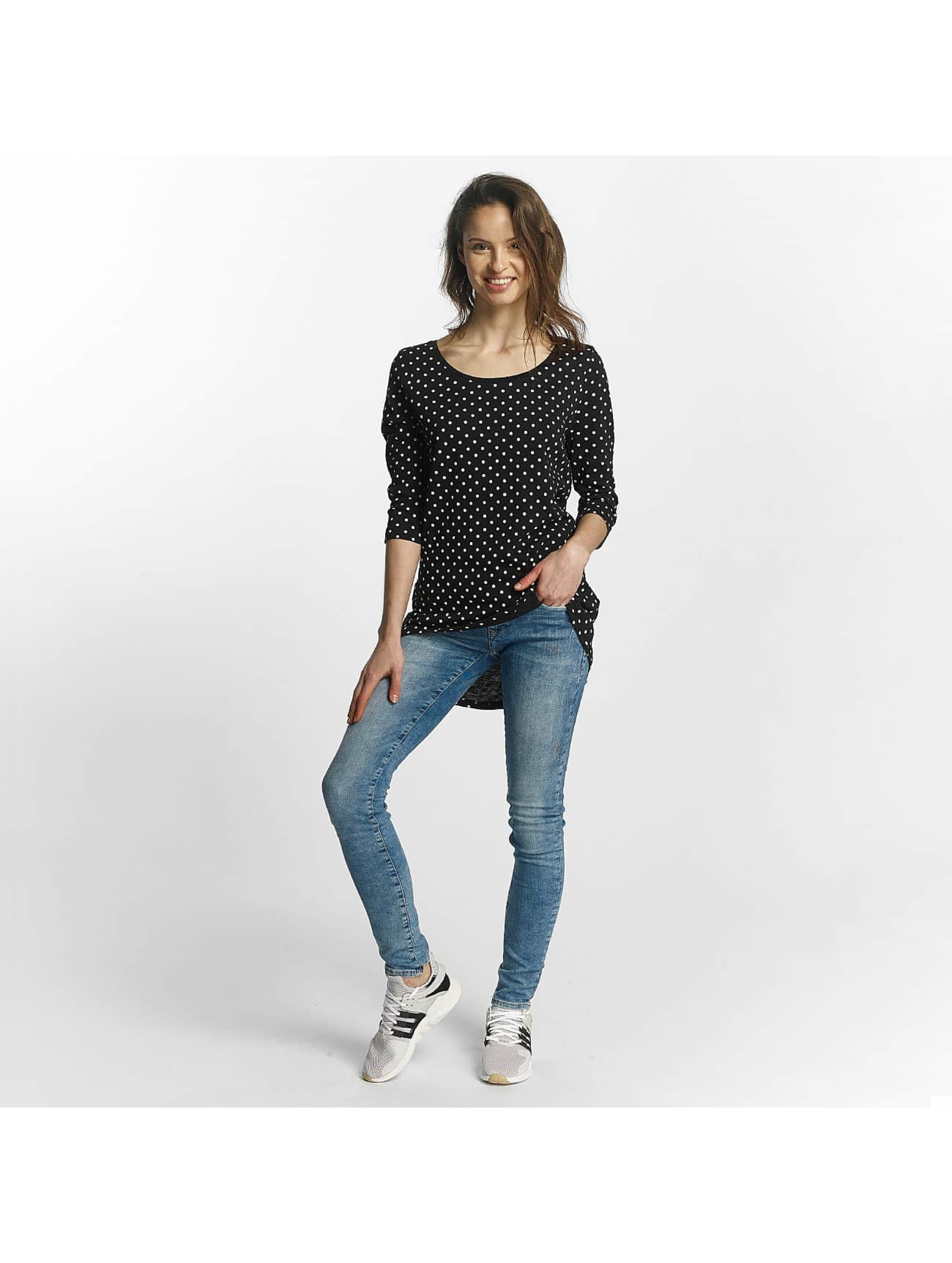 Only T-Shirt manches longues Casa 3/4 noir