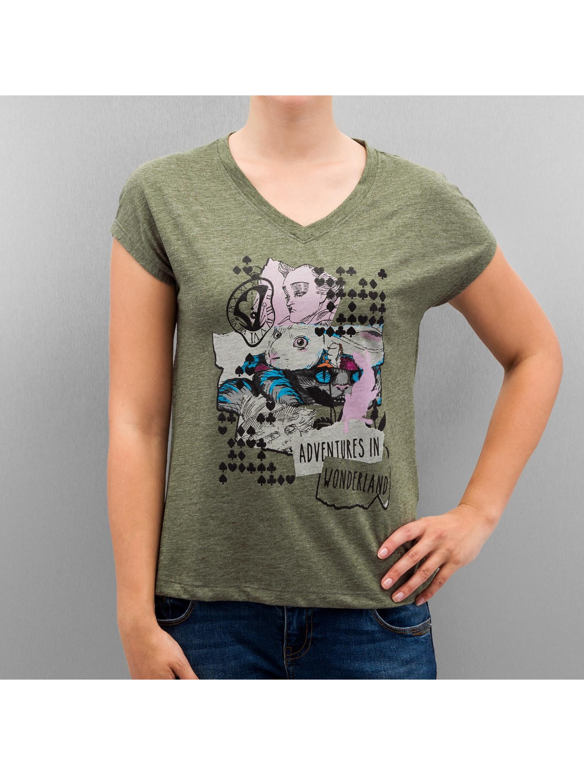 Only t-shirt onlAlice olijfgroen