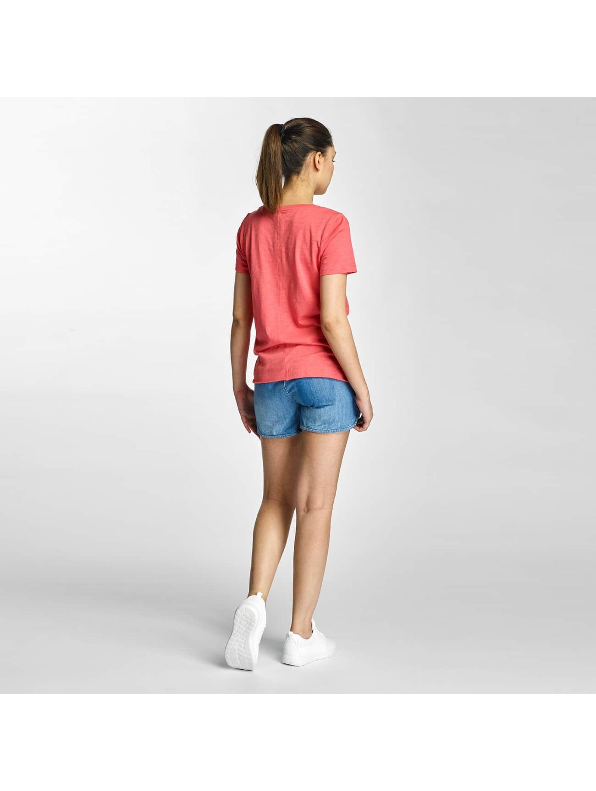 Only T-Shirt onlLeah Bone pink
