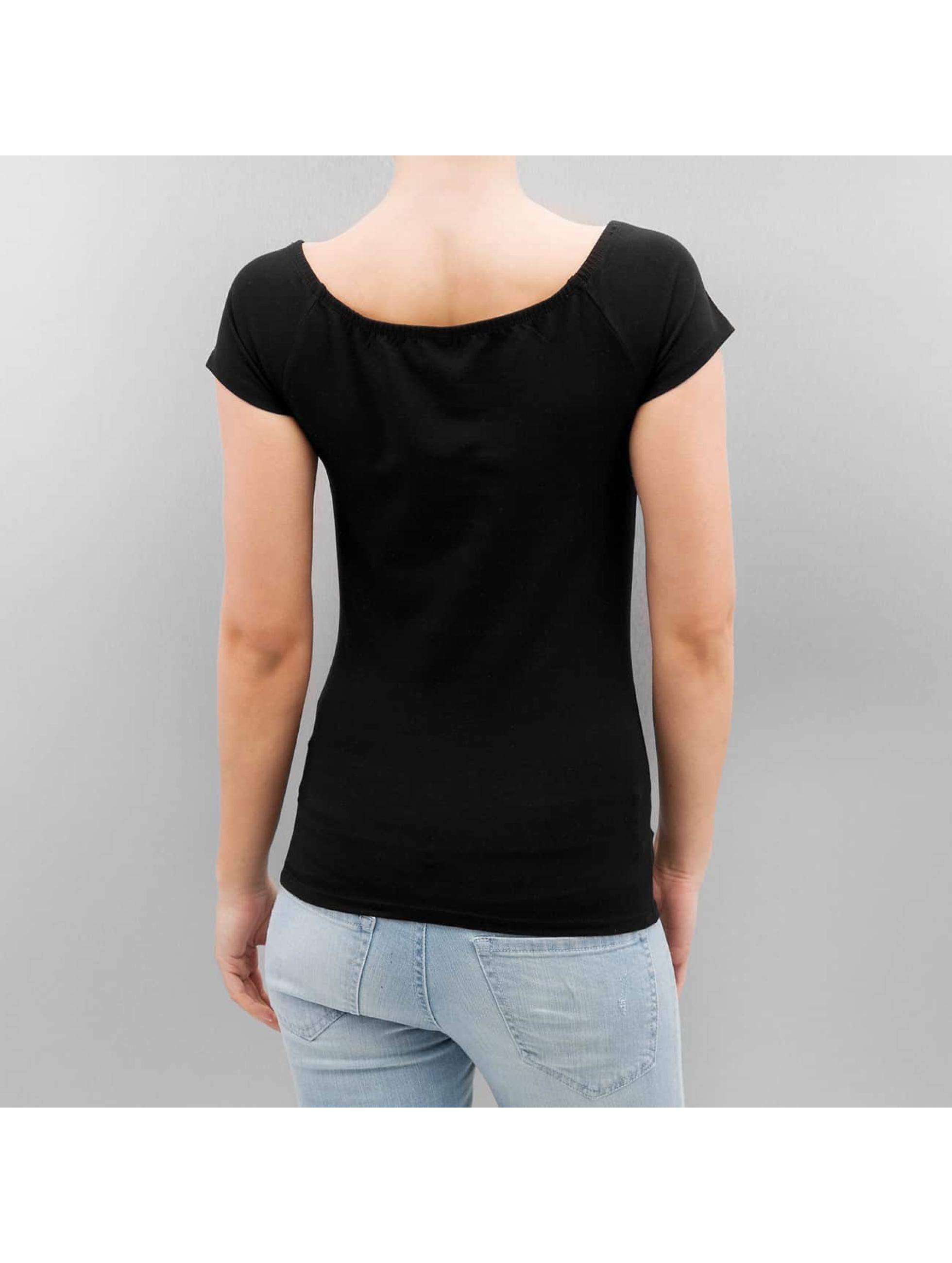Only T-Shirt onlLive Love schwarz