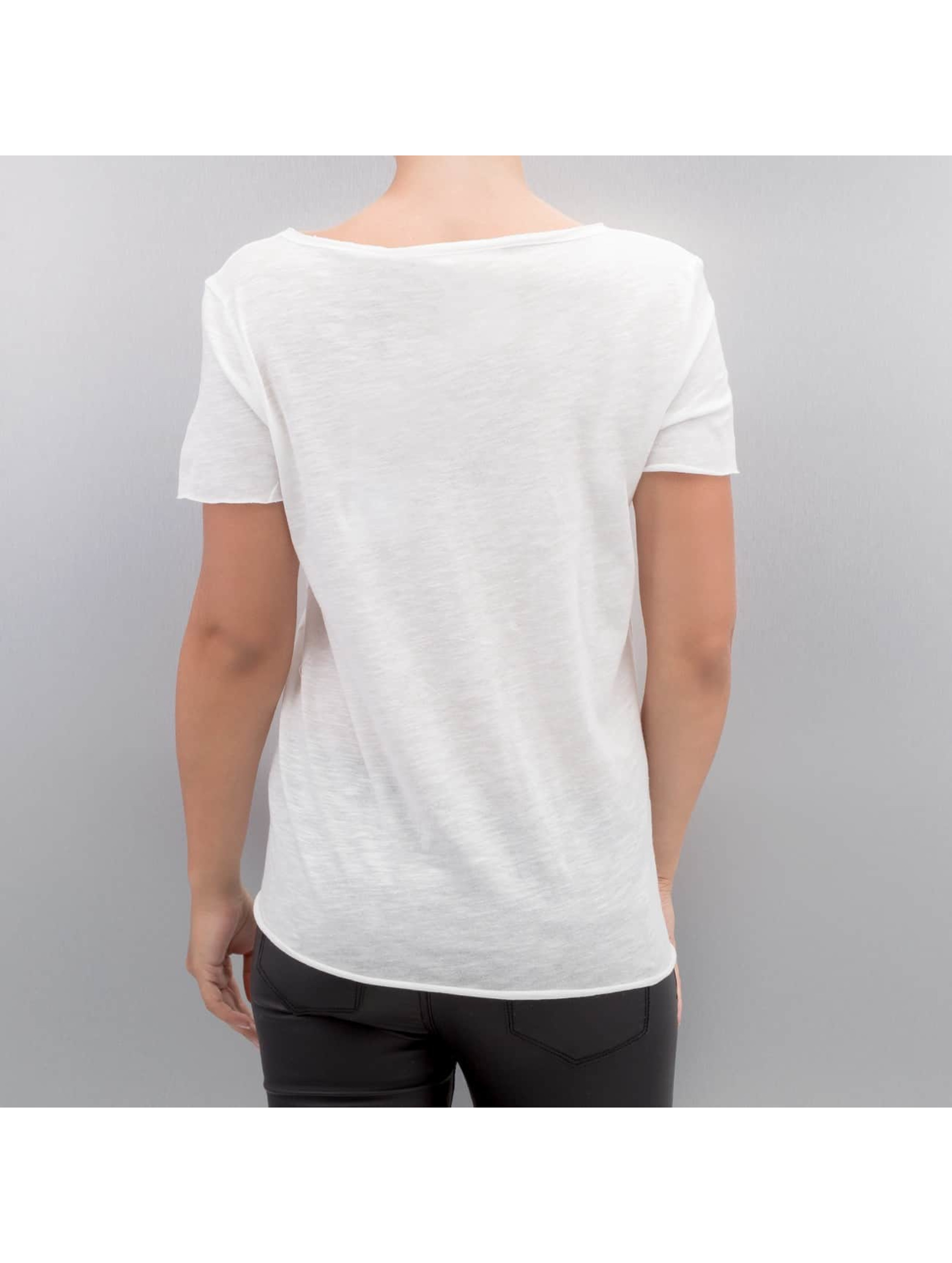 Only T-Shirt onlAugusta Lips/Eyes weiß