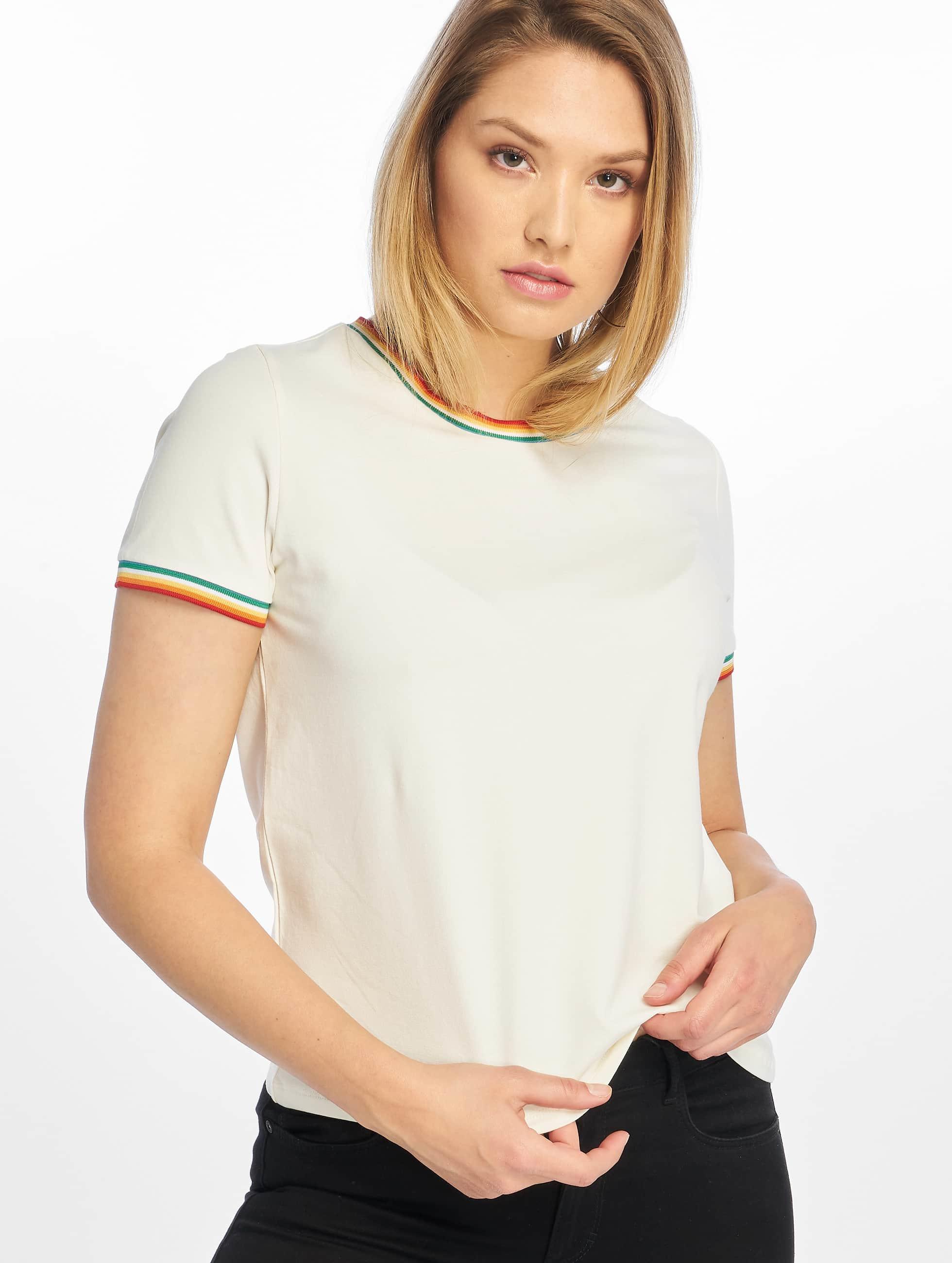Only Damen T-Shirt onlRainbow in weiß 602947
