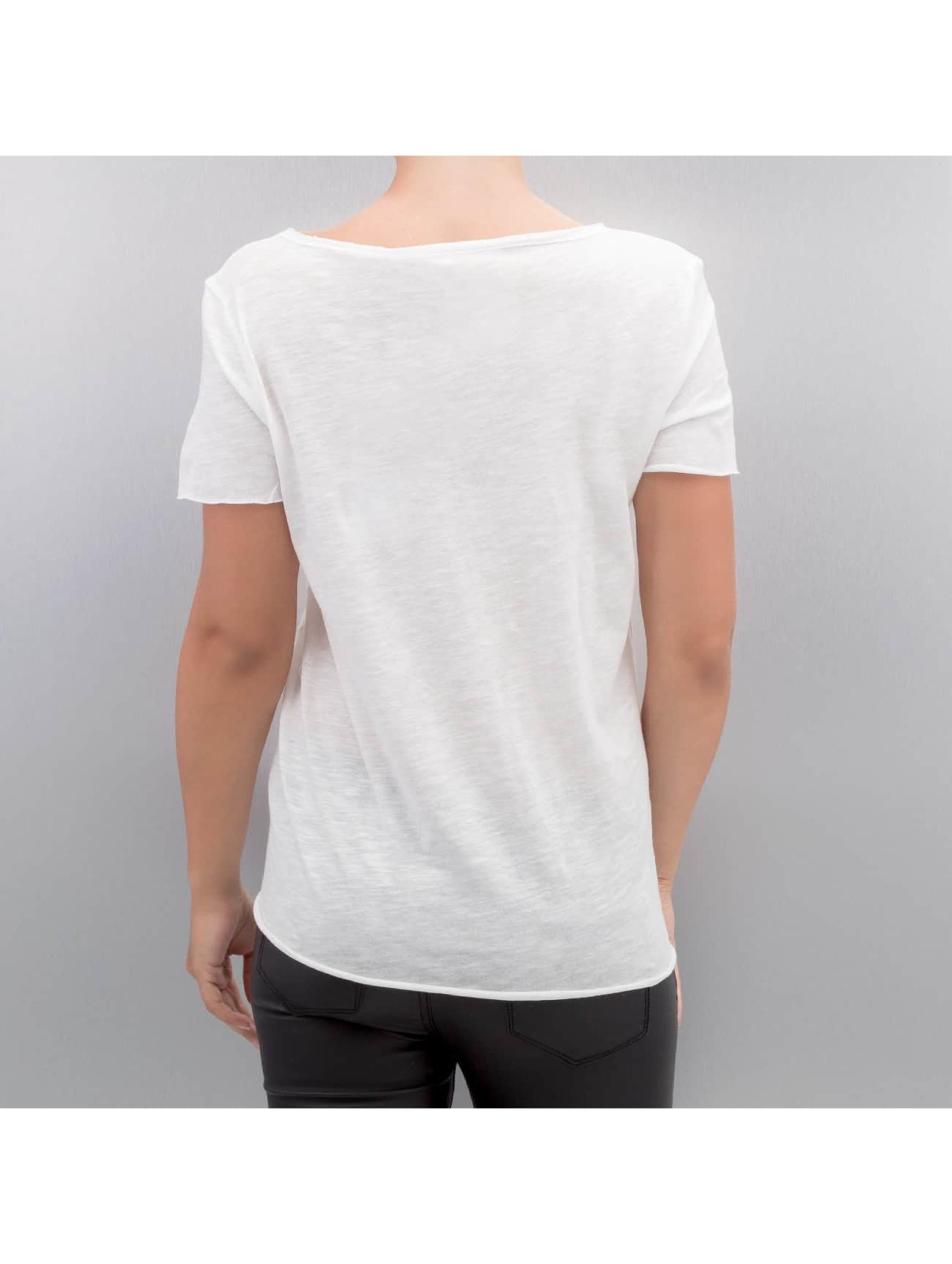 Only T-skjorter onlAugusta Lips/Eyes hvit