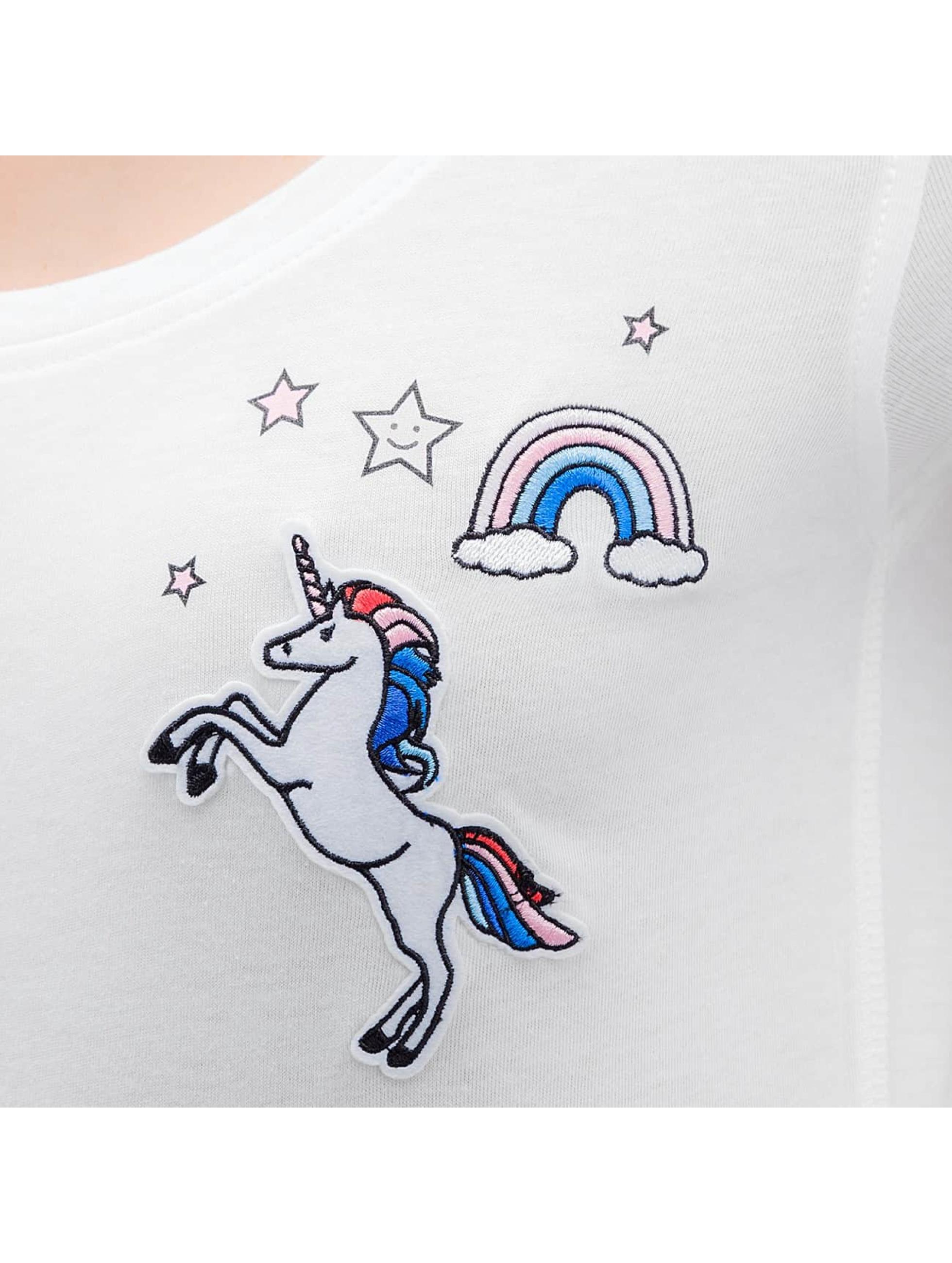 Only T-skjorter onlTessa Unicorn hvit