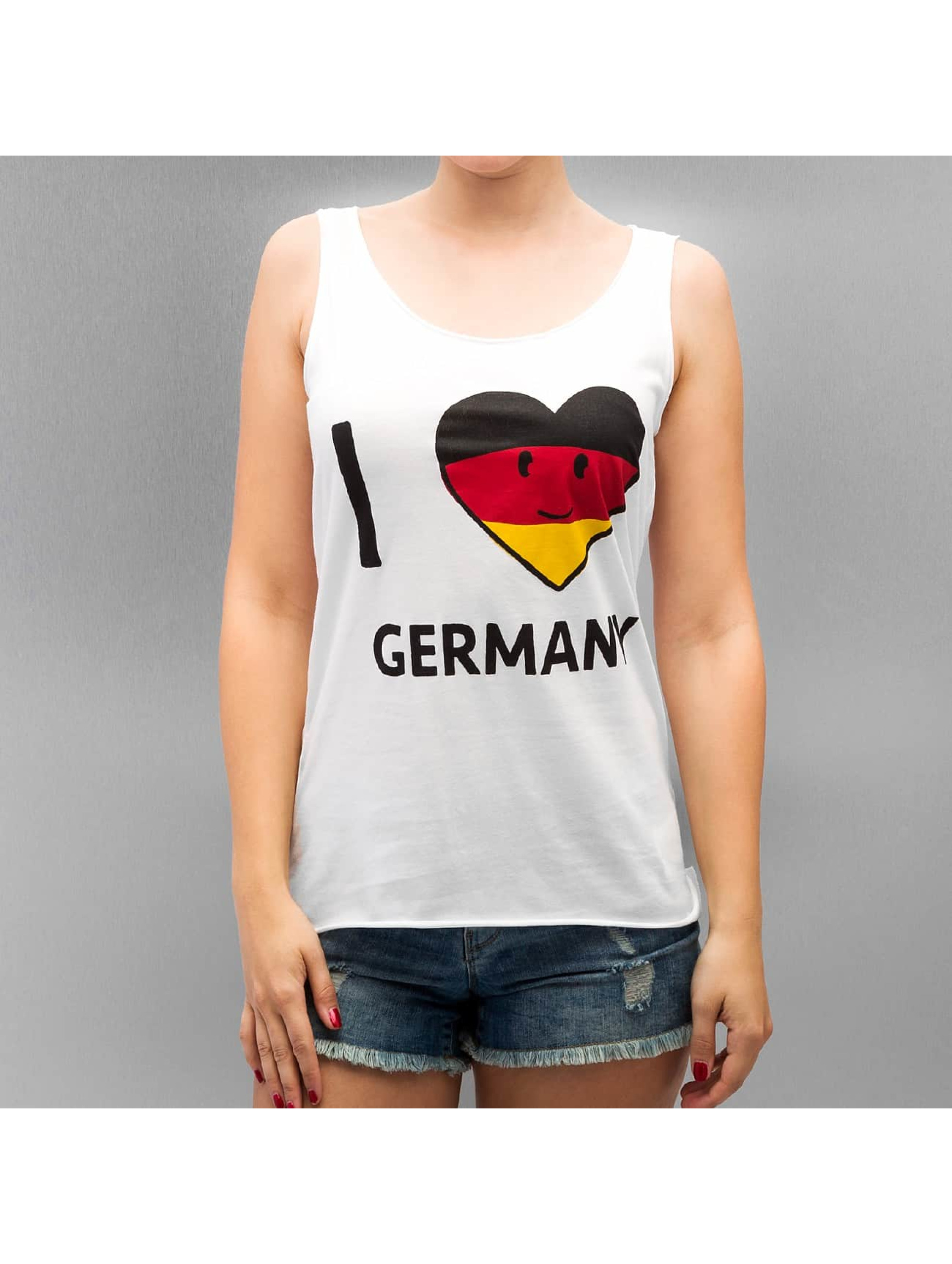 Only Tank Tops onlHolly Flag weiß