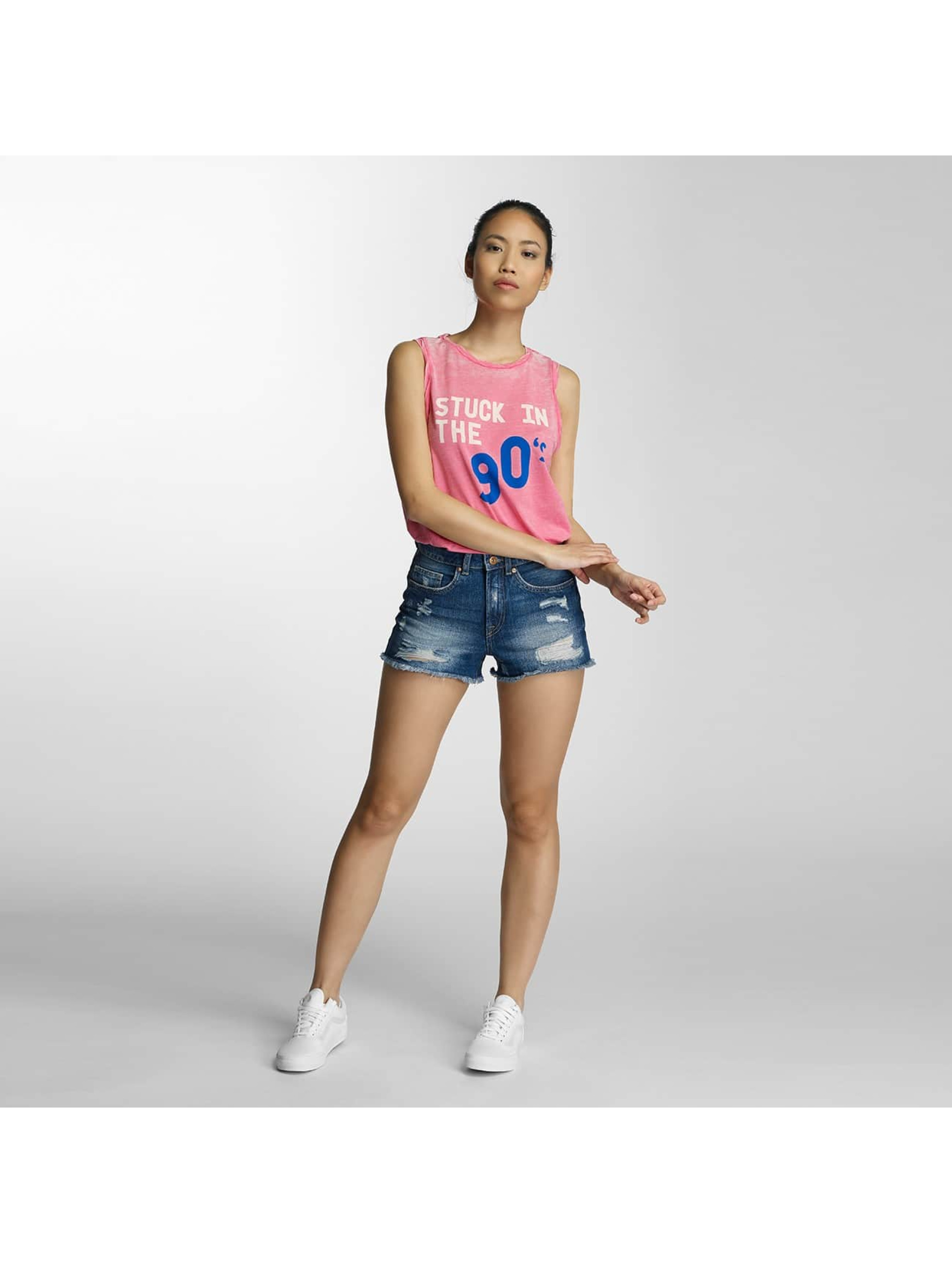 Only Tanktop onlSofia Stuck Tape pink