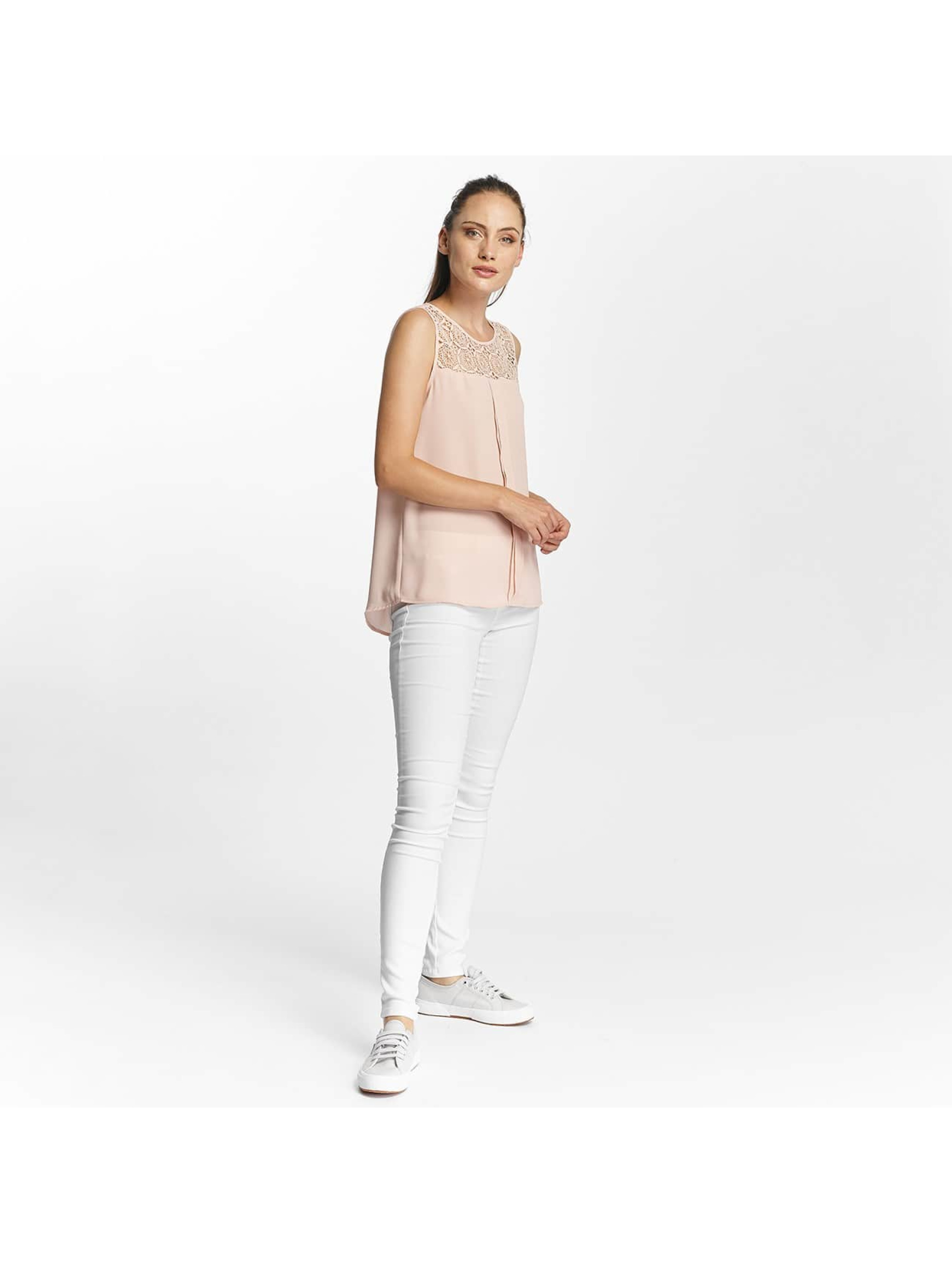Only Tops onlVenice Lace rosa chiaro