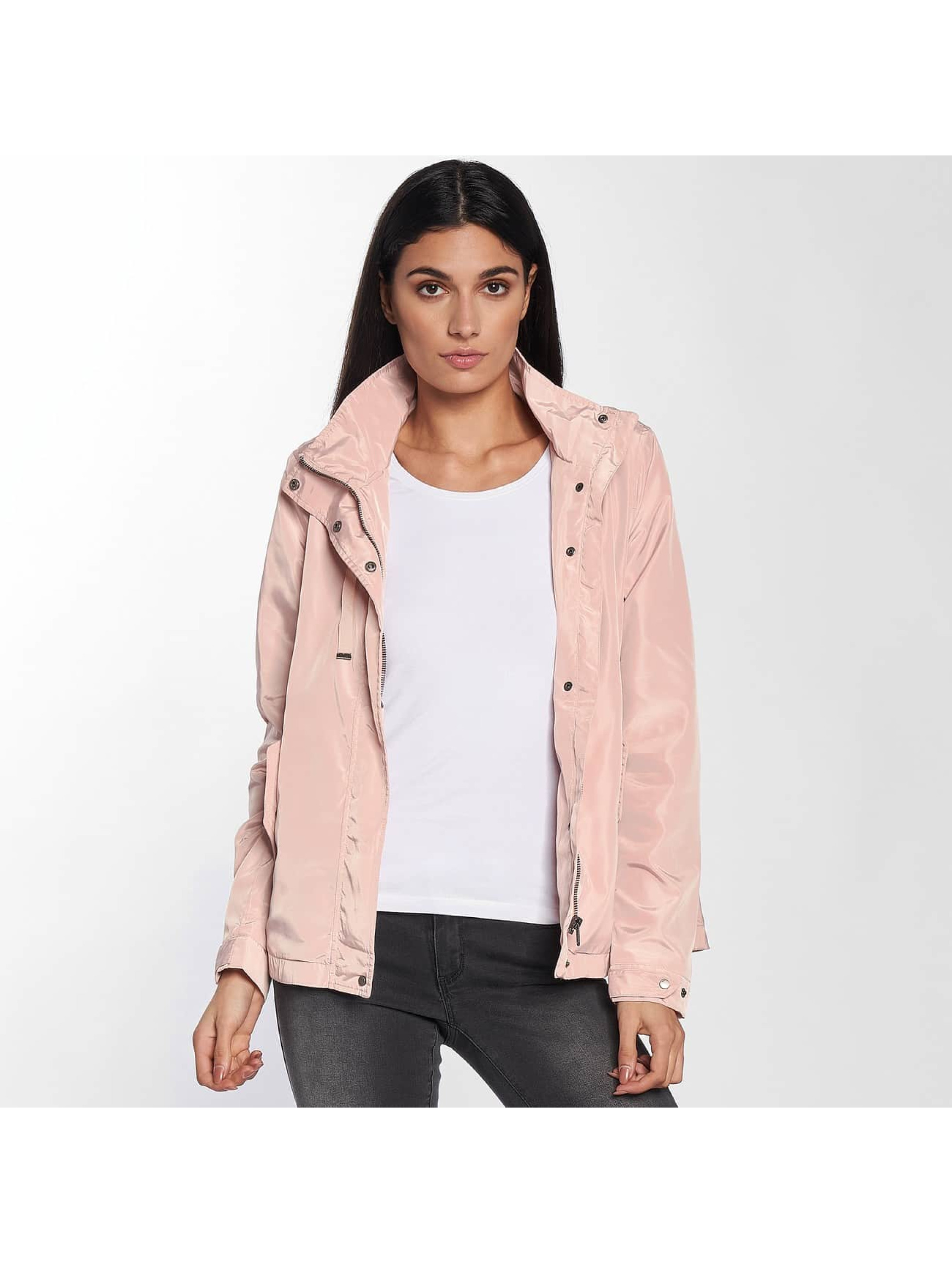 Only Transitional Jackets onlLina Nylon Parka rosa
