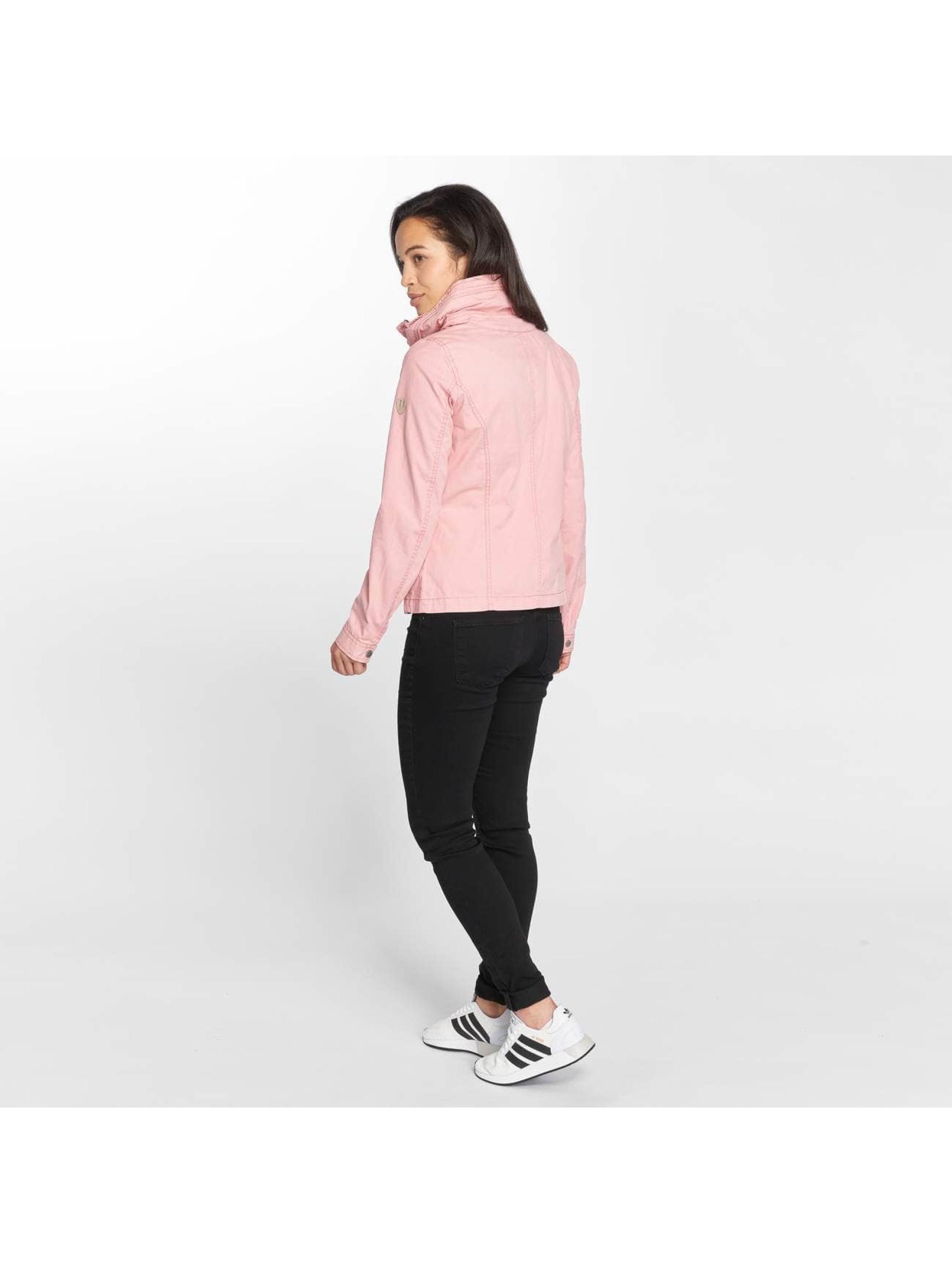 Only Transitional Jackets onlDoris Short Spring rosa