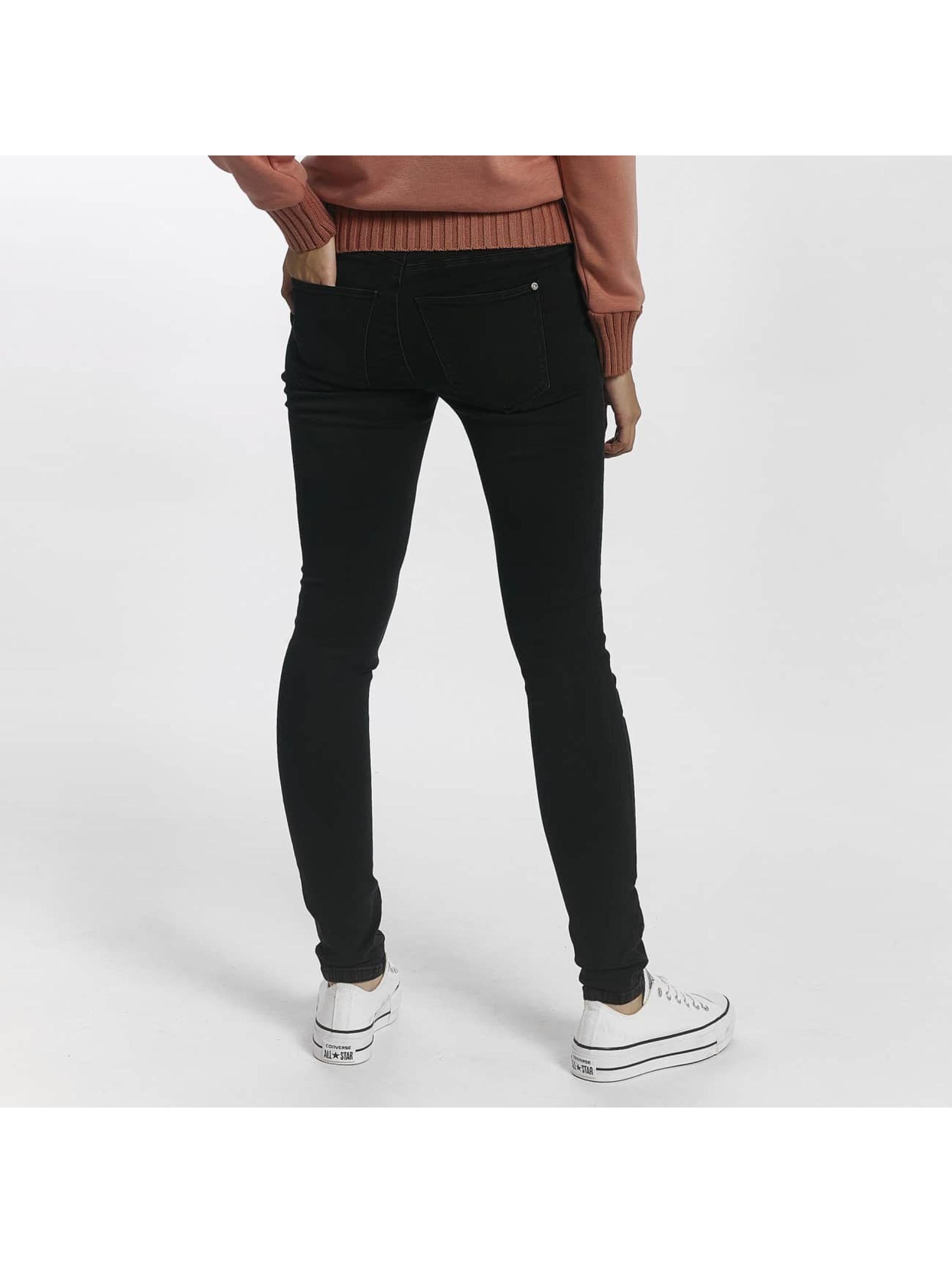 Only Tynne bukser onlPiper svart