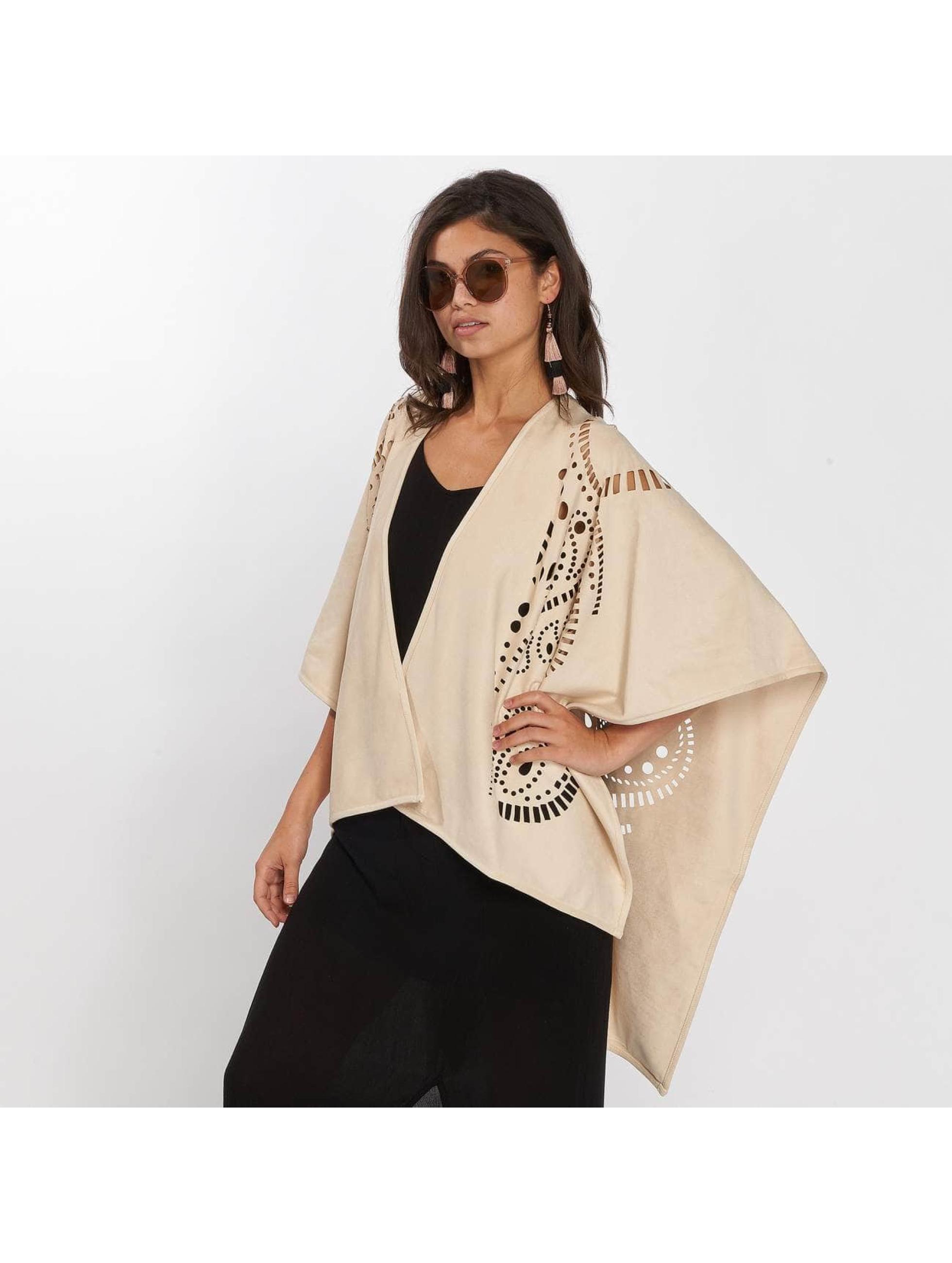Only vest onlDita Poncho beige