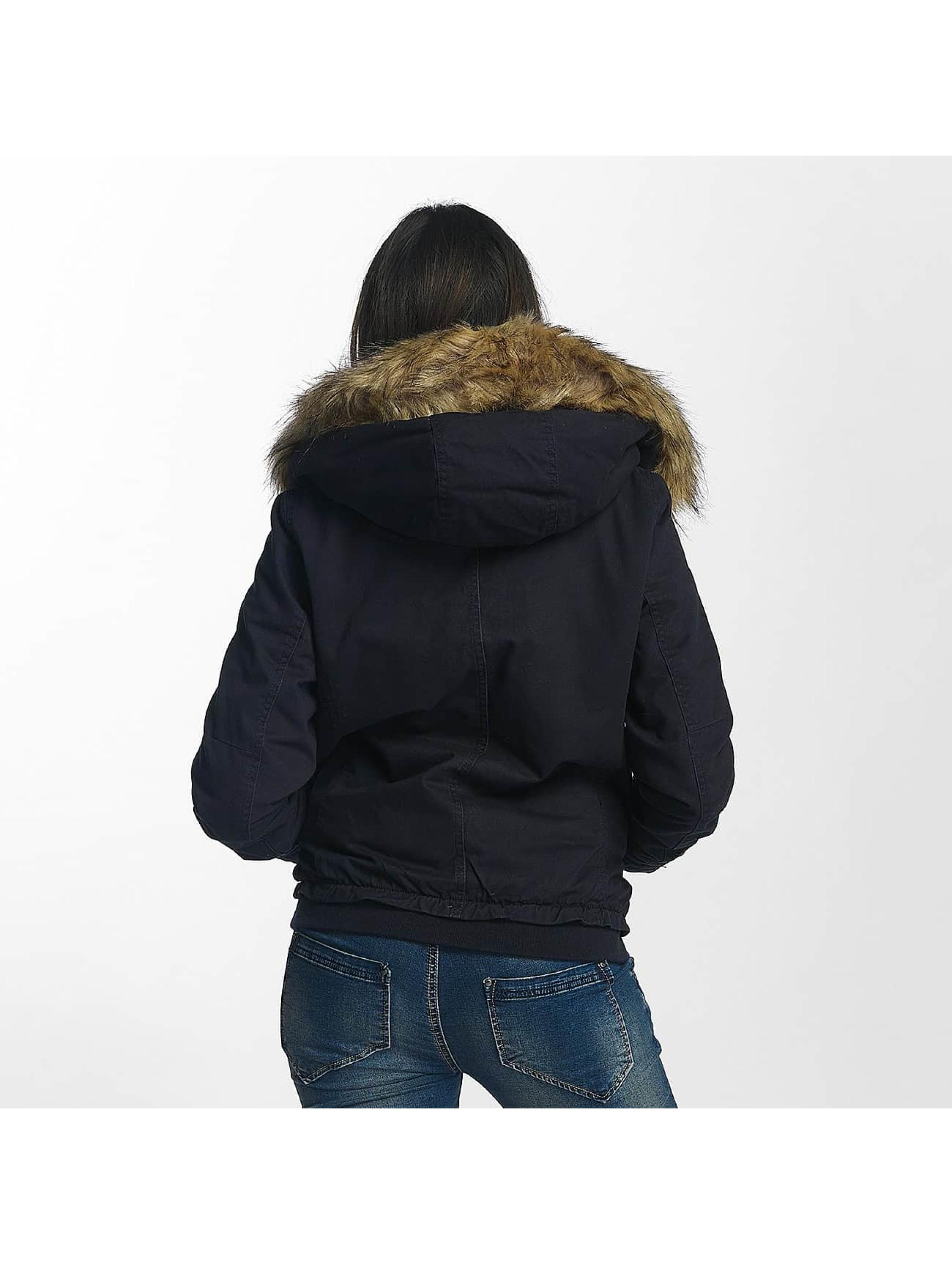 Only Zimné bundy onlNova modrá