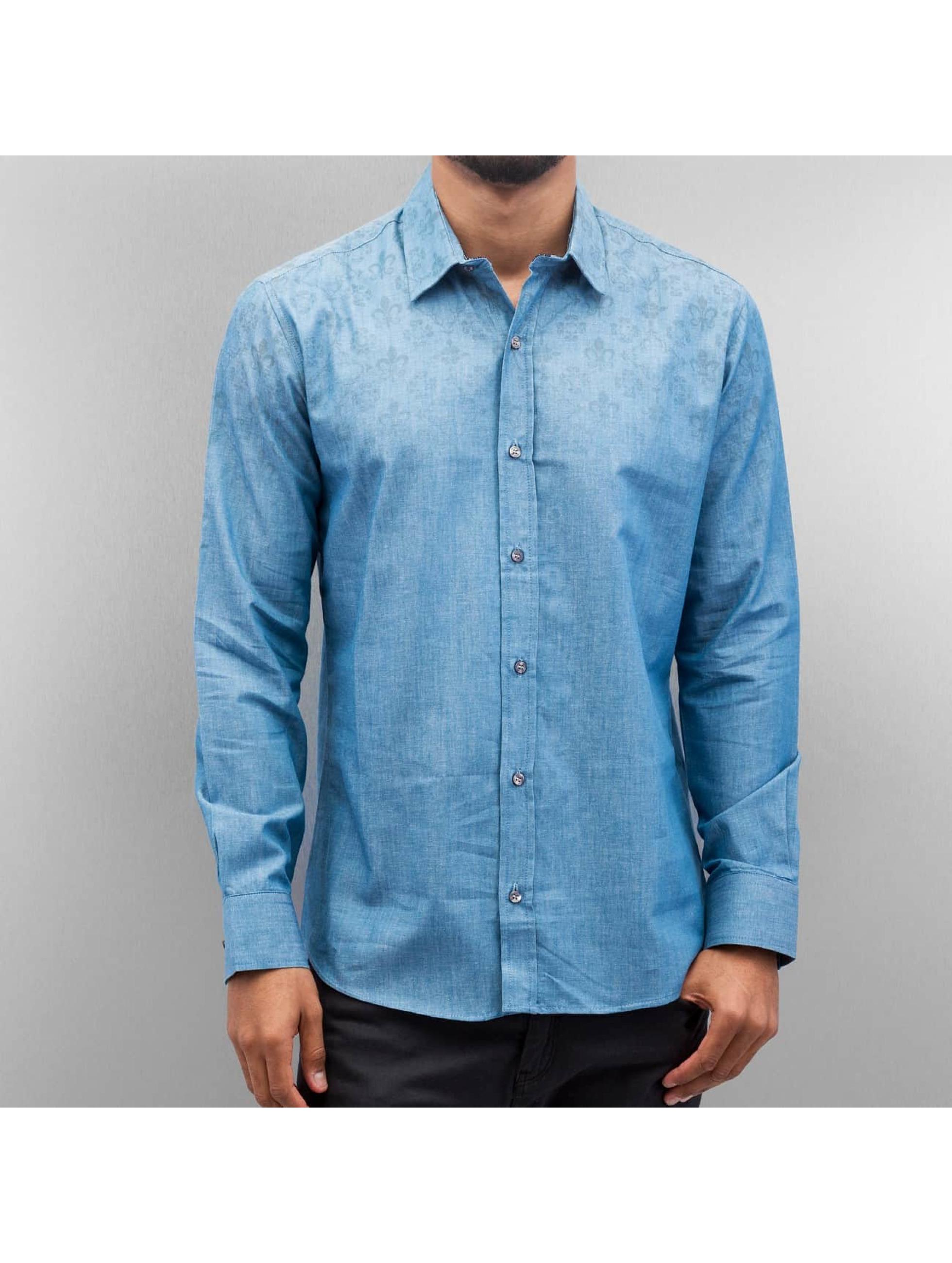 Open Рубашка Flow синий