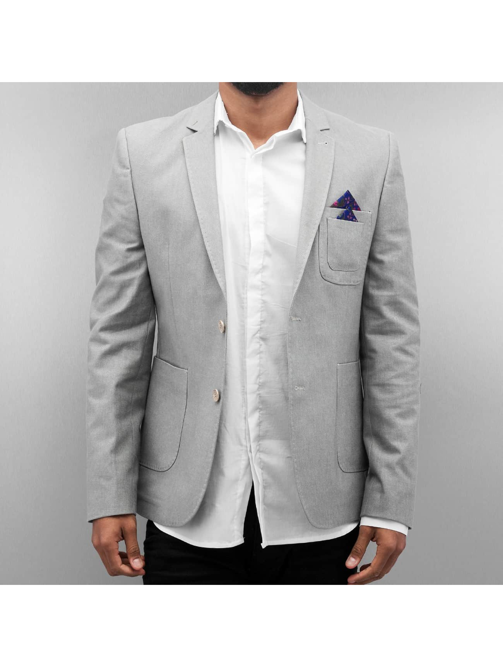 Open Coat/Jacket-1 Basic gray