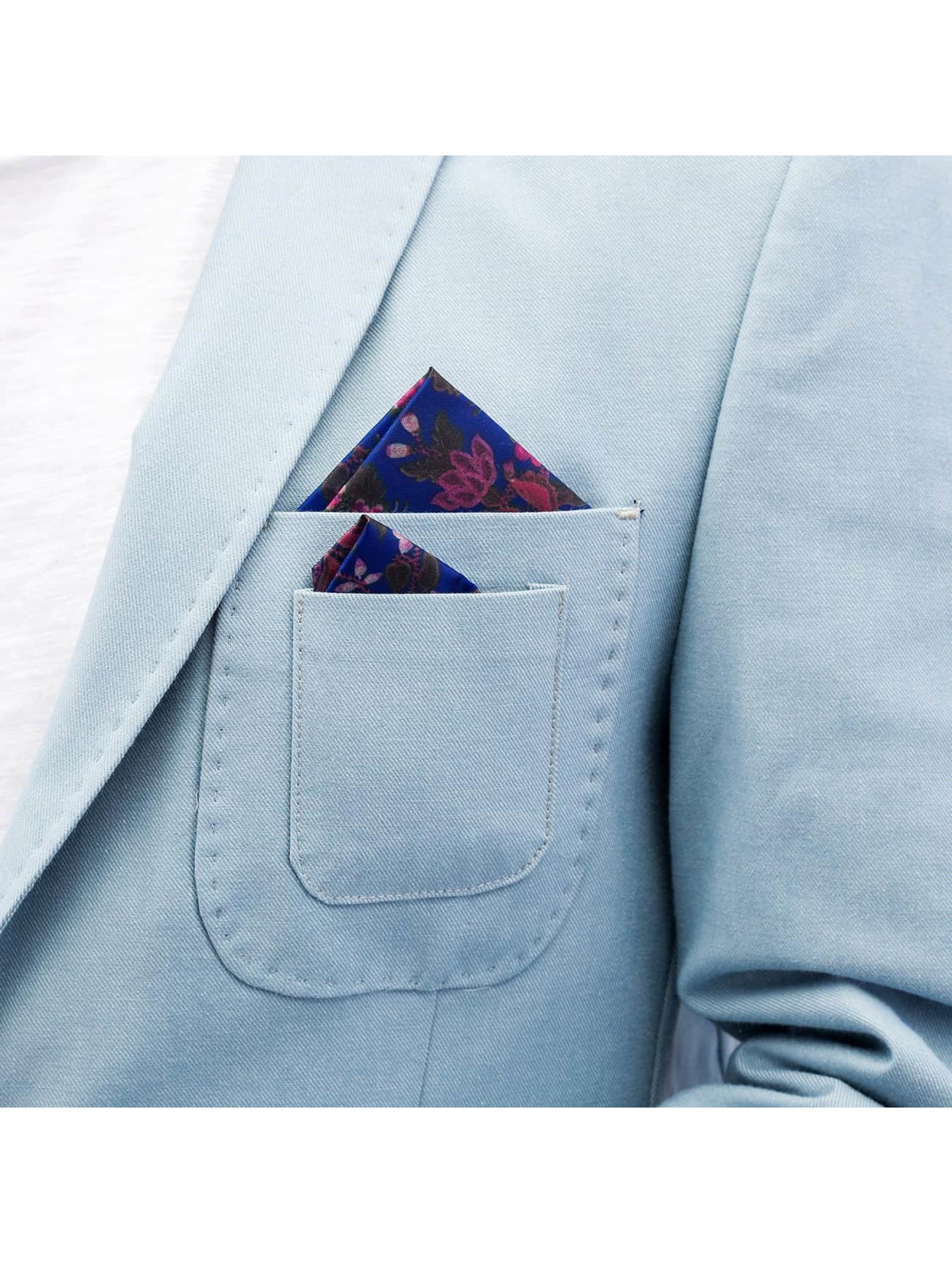 Open Colbert Basic blauw