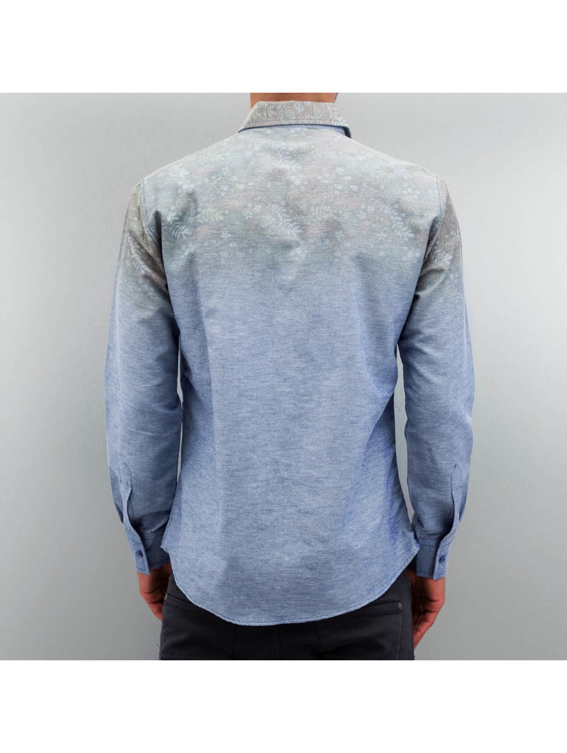 Open Hemd Nature blau
