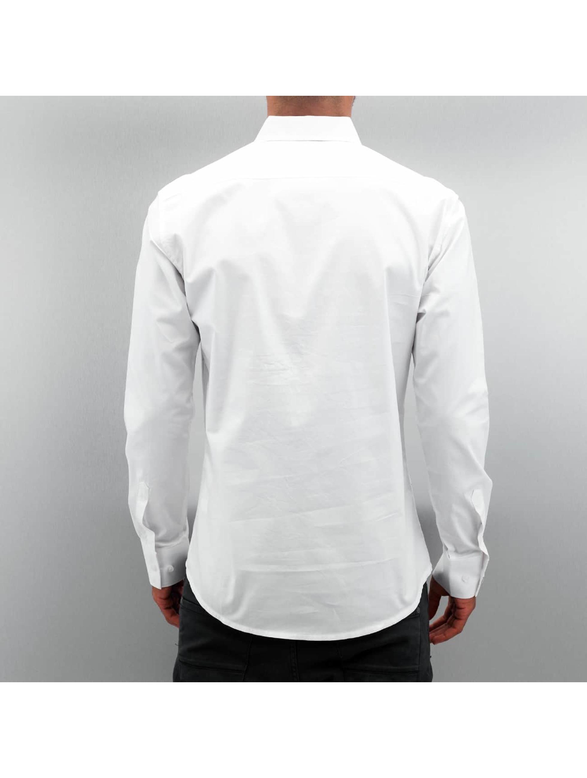 Open Hemd Stitch weiß
