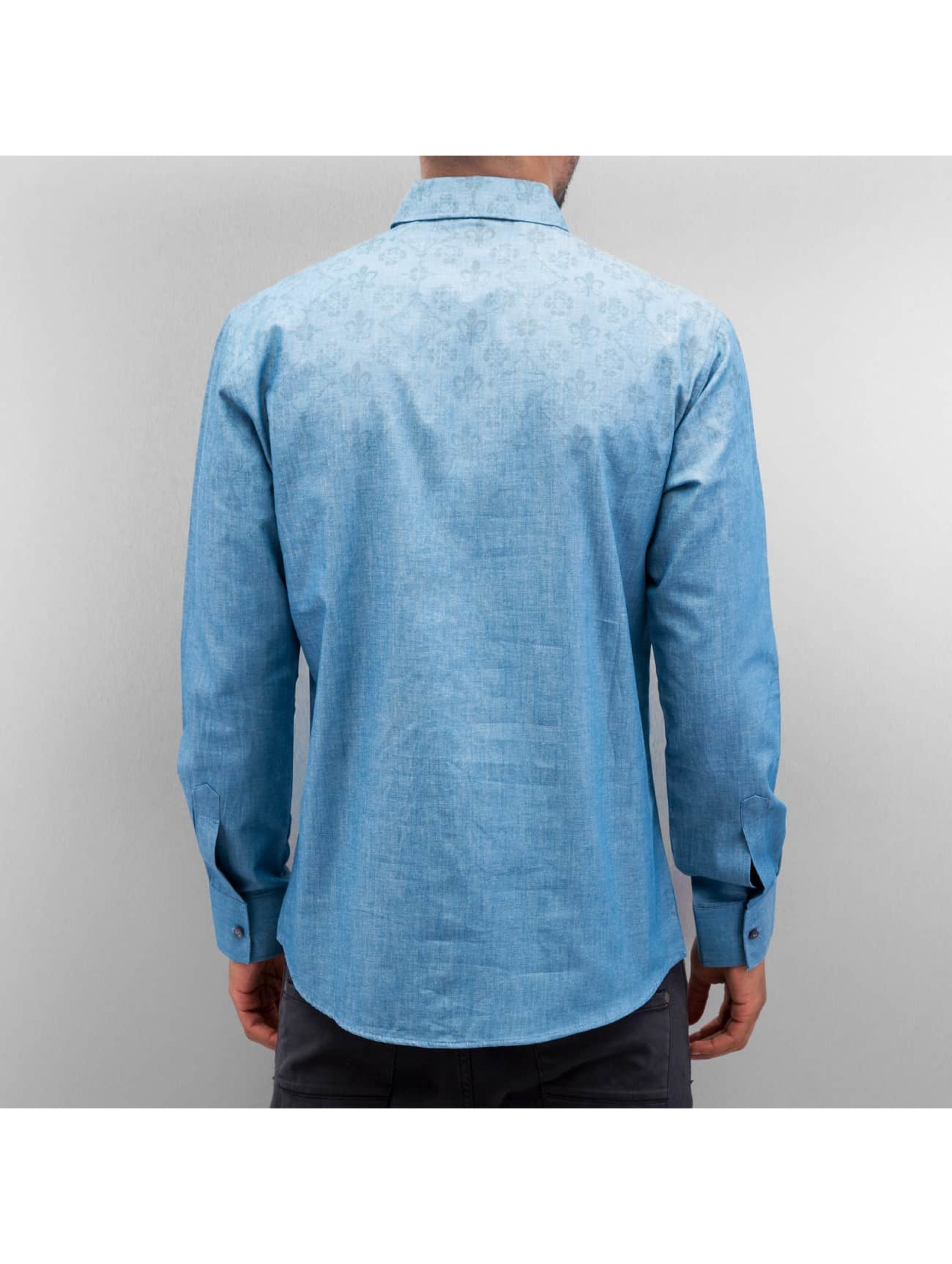 Open overhemd Flow blauw