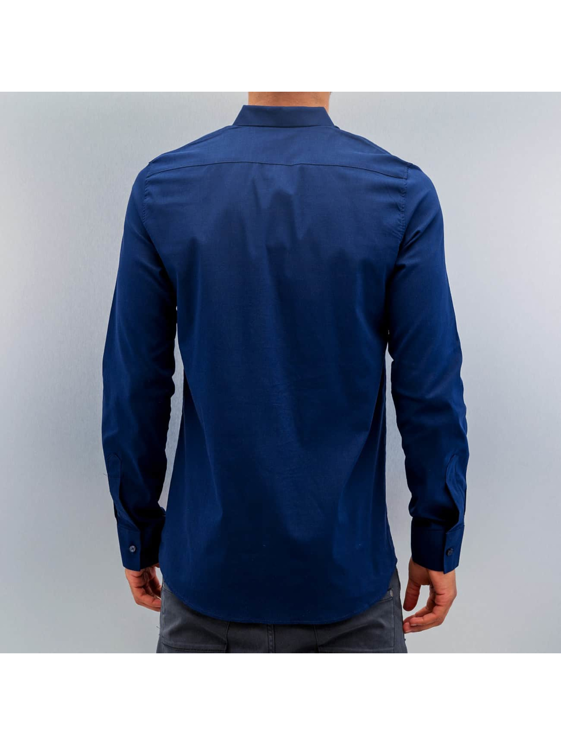 Open overhemd Ante blauw