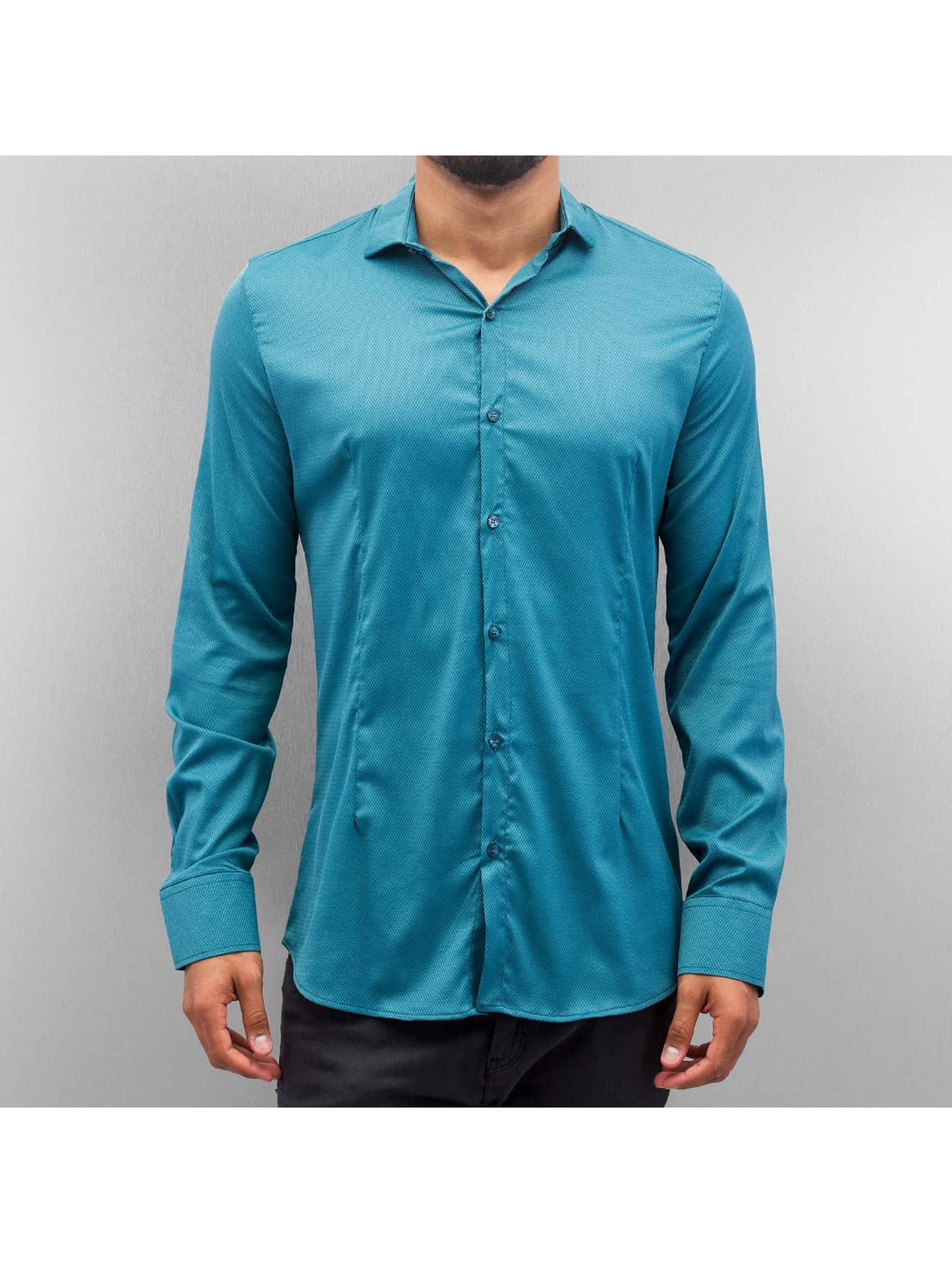 Open overhemd Rio turquois
