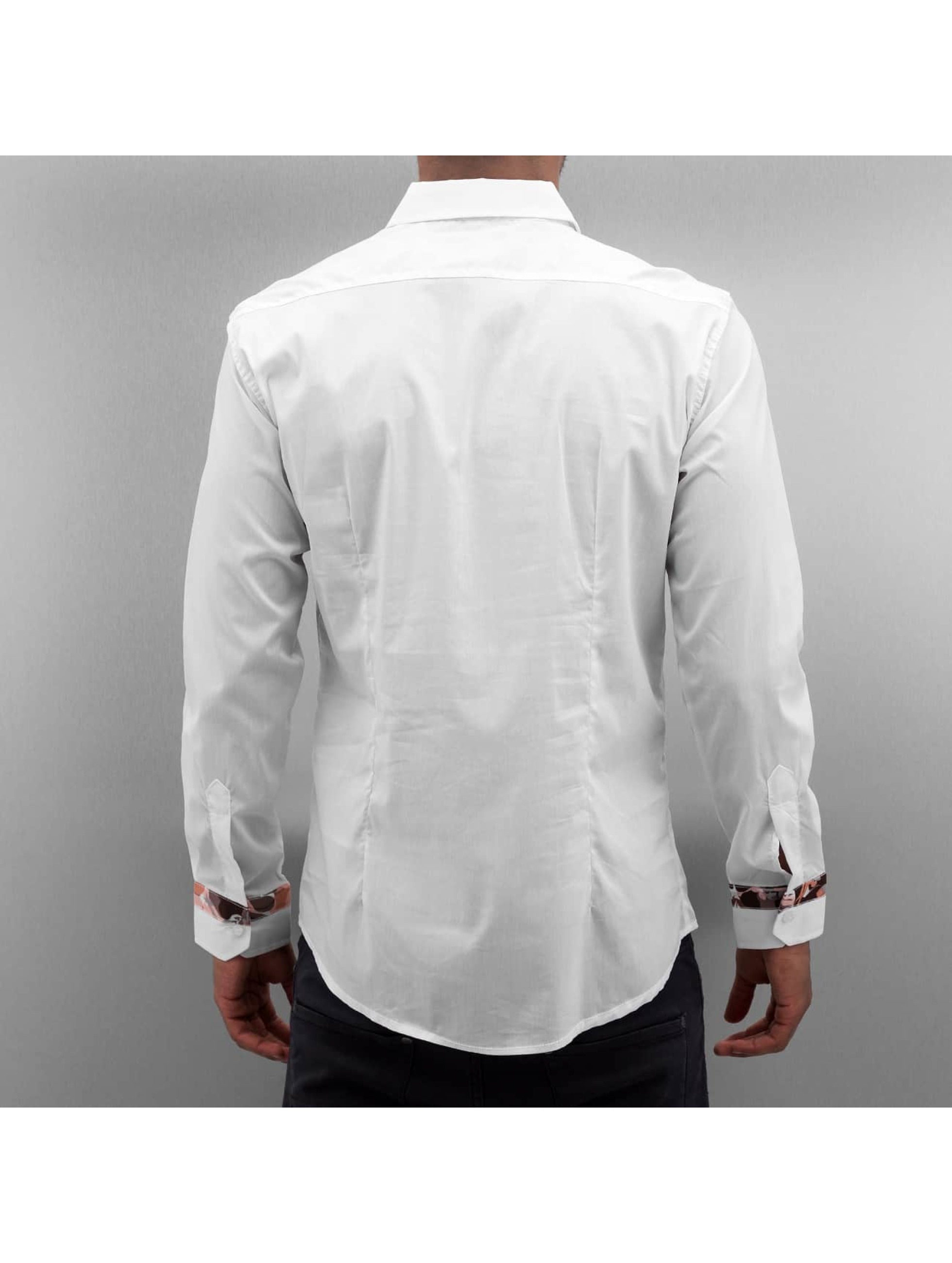 Open overhemd Dusan wit