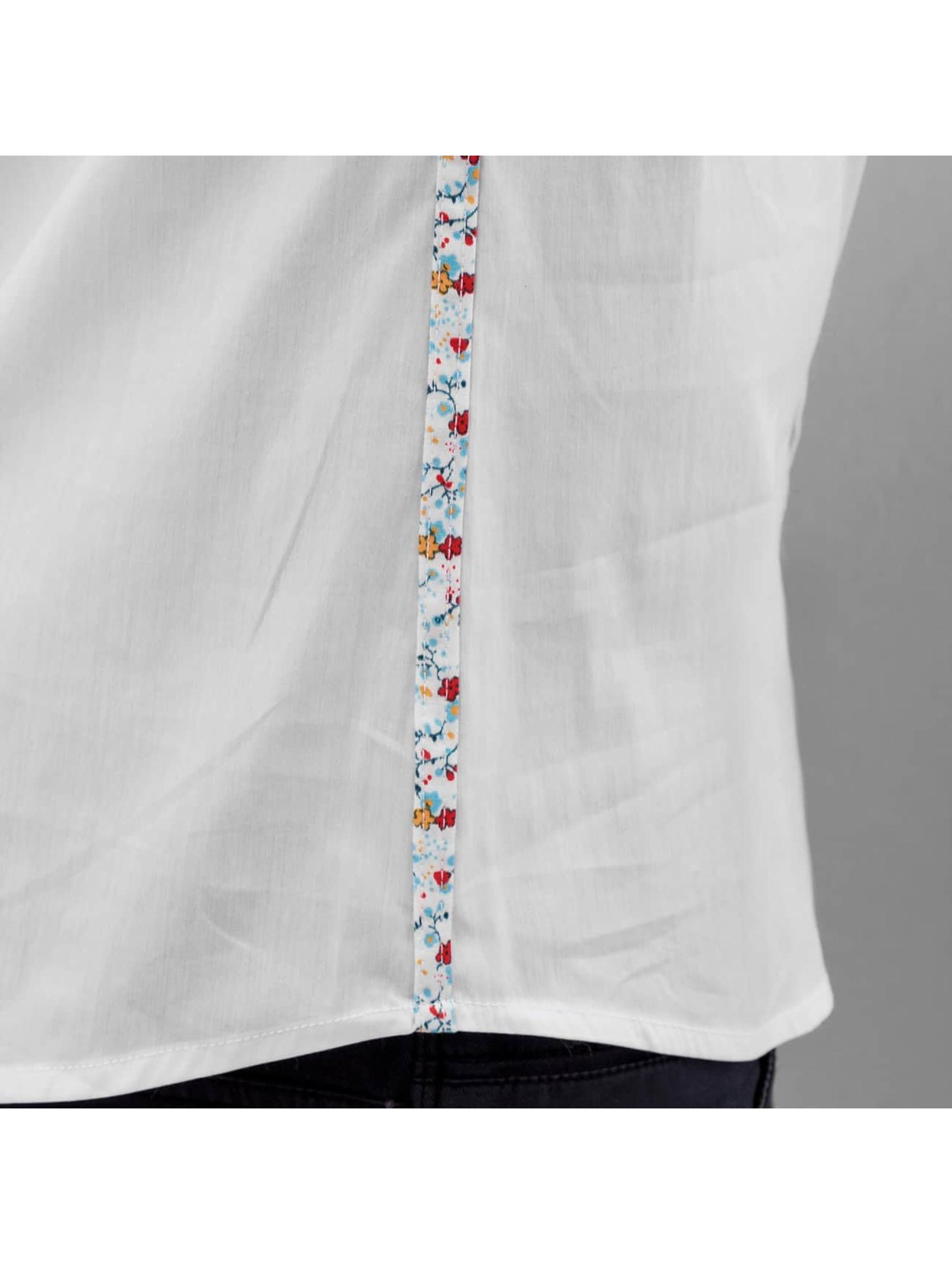 Open overhemd Emin wit