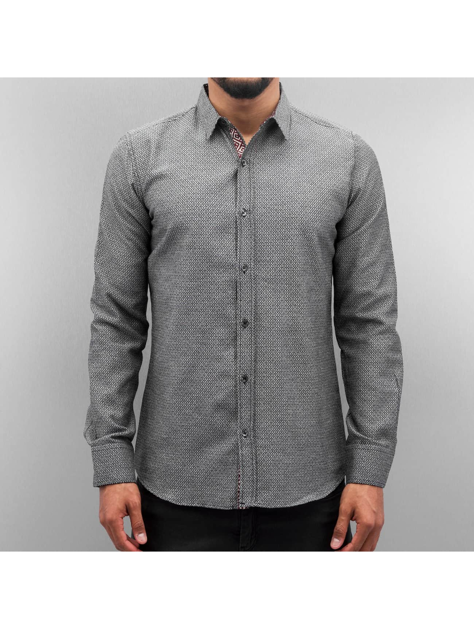 Open Shirt Dots II gray
