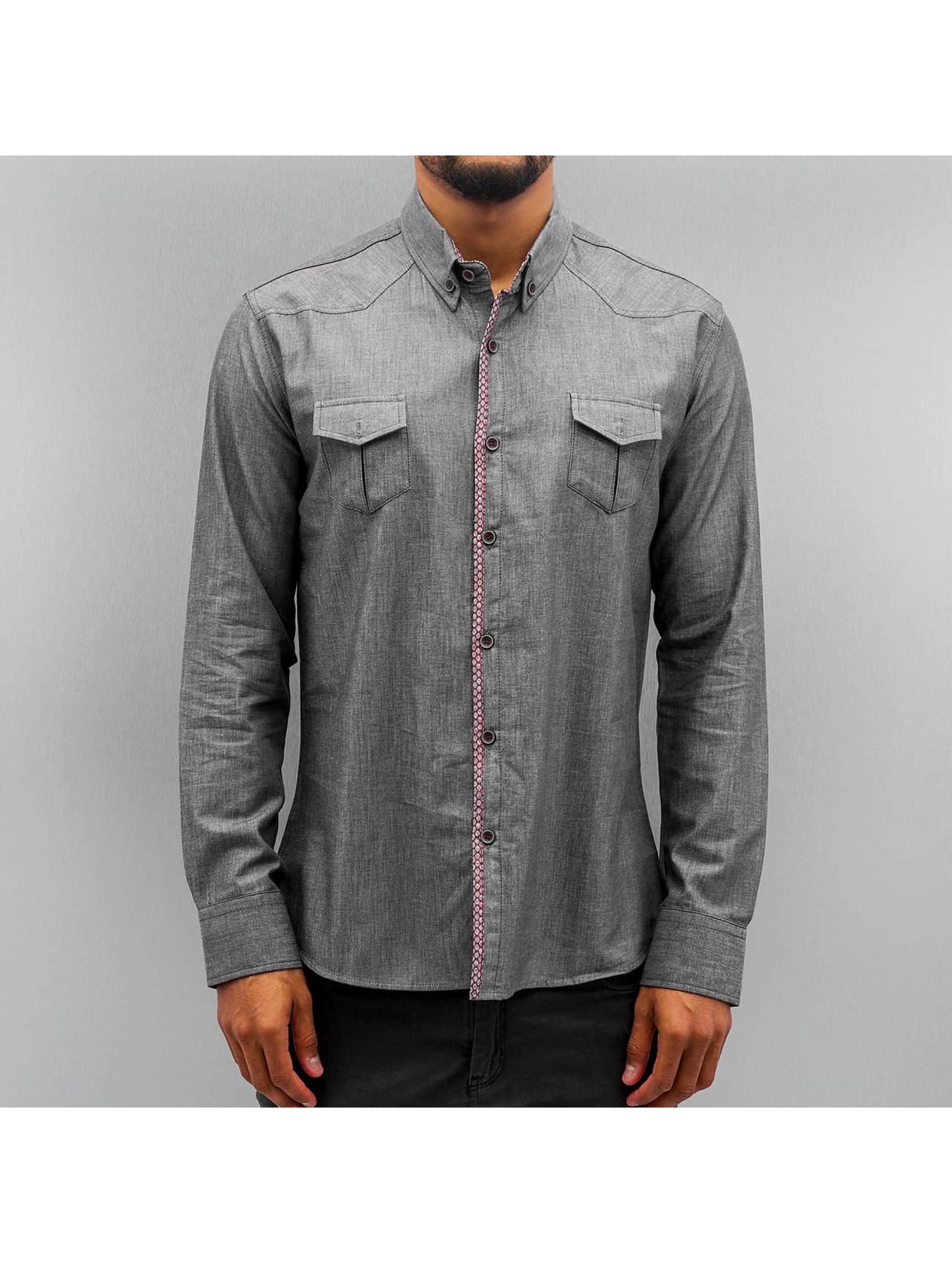 Open Shirt Breast Pocket indigo