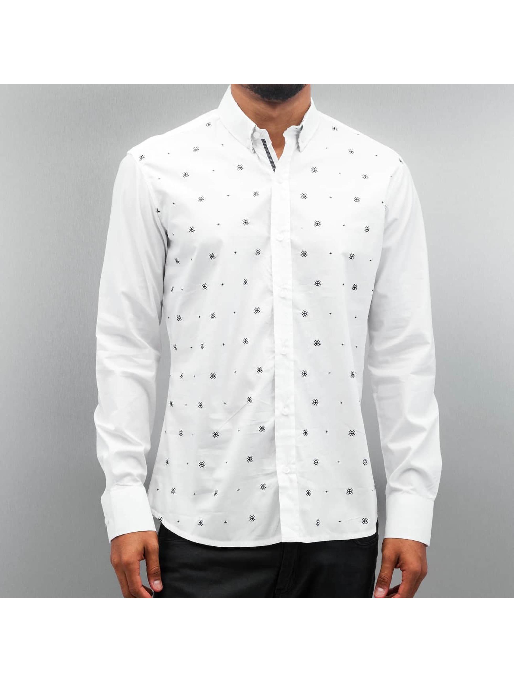 Open Skjorter Stitch hvit
