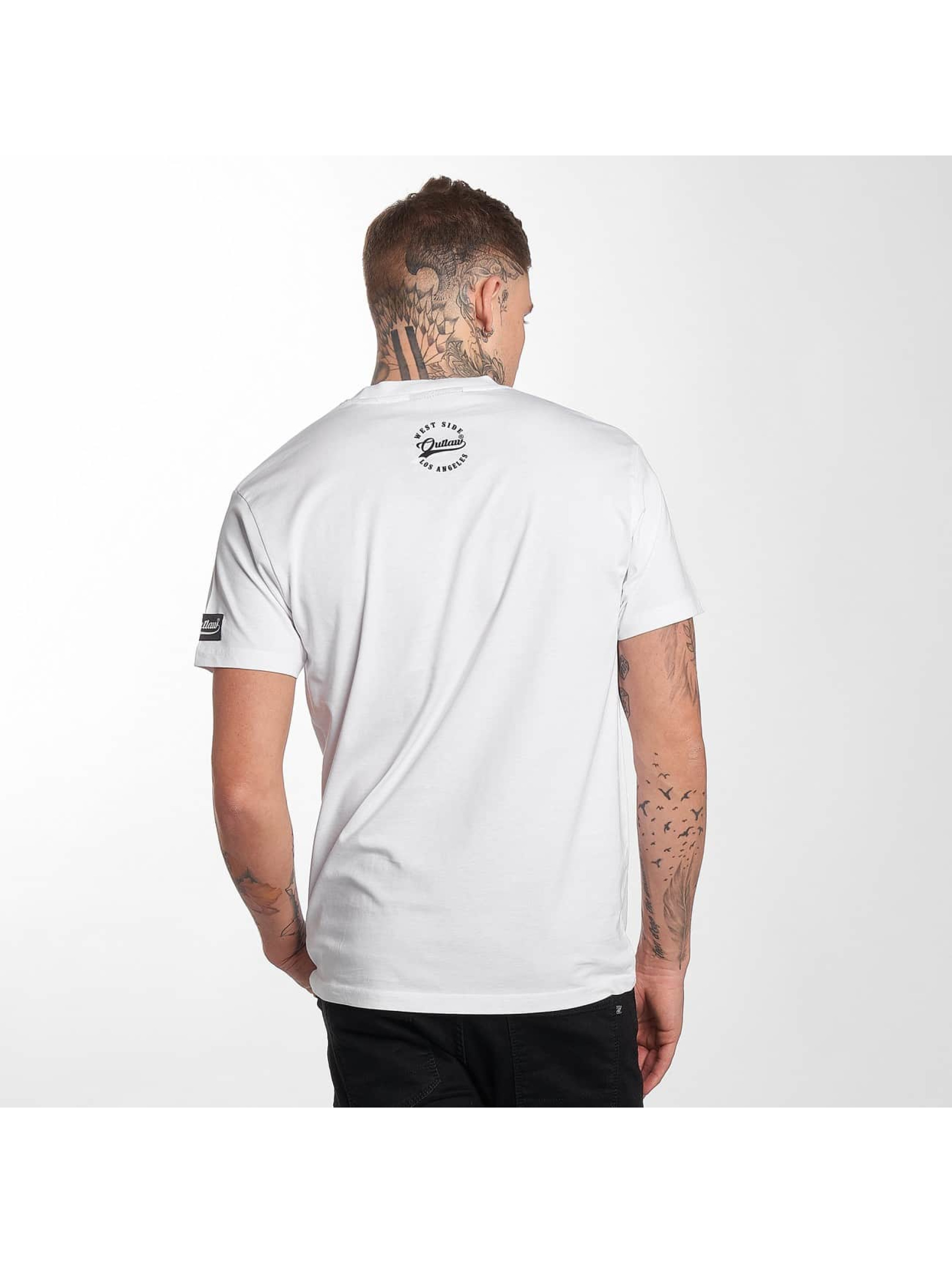Outlaw T-Shirt Outlaw Brand blanc