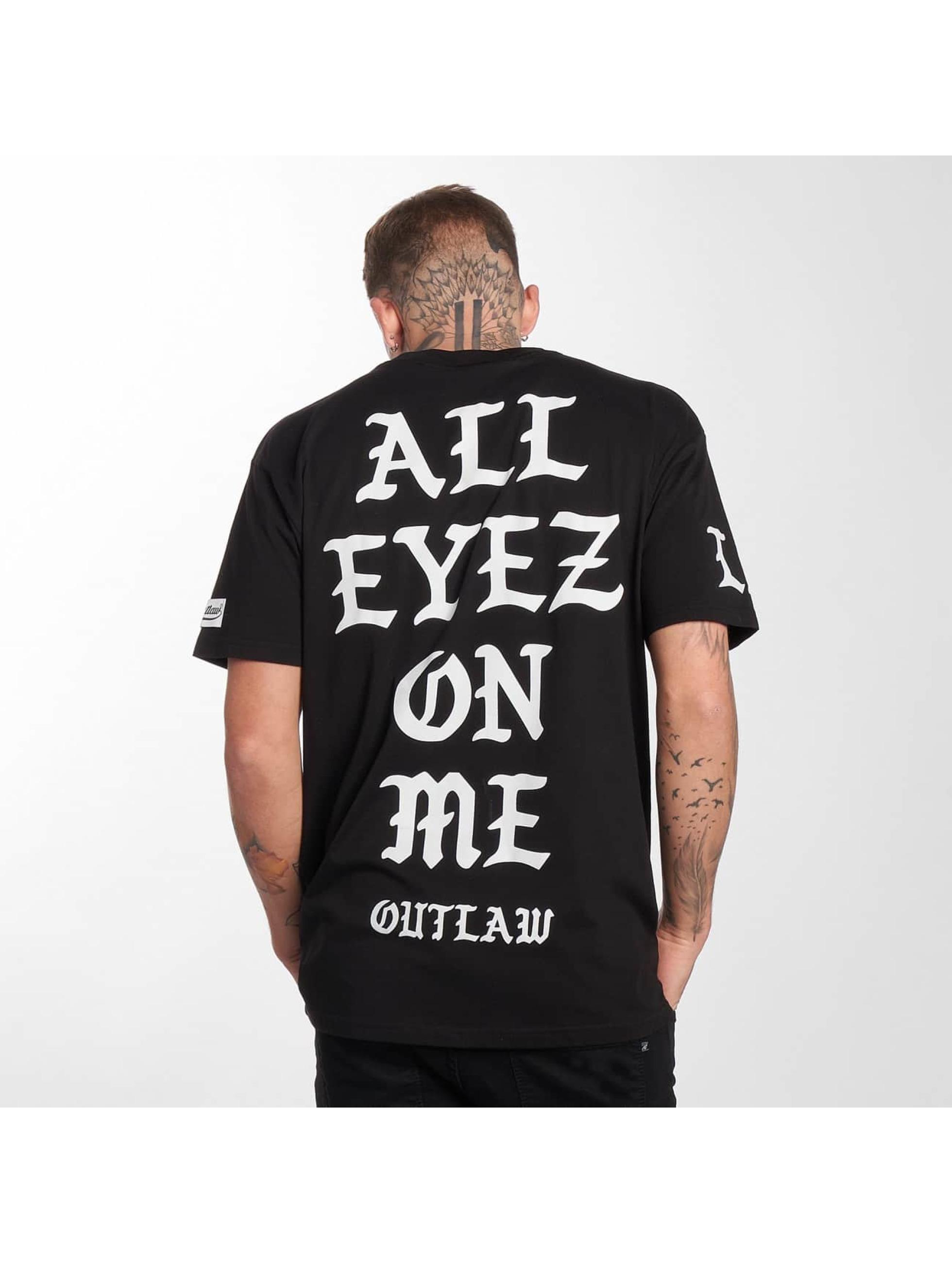 """Outlaw T-Shirt """"Outlaw LA"""" noir"""