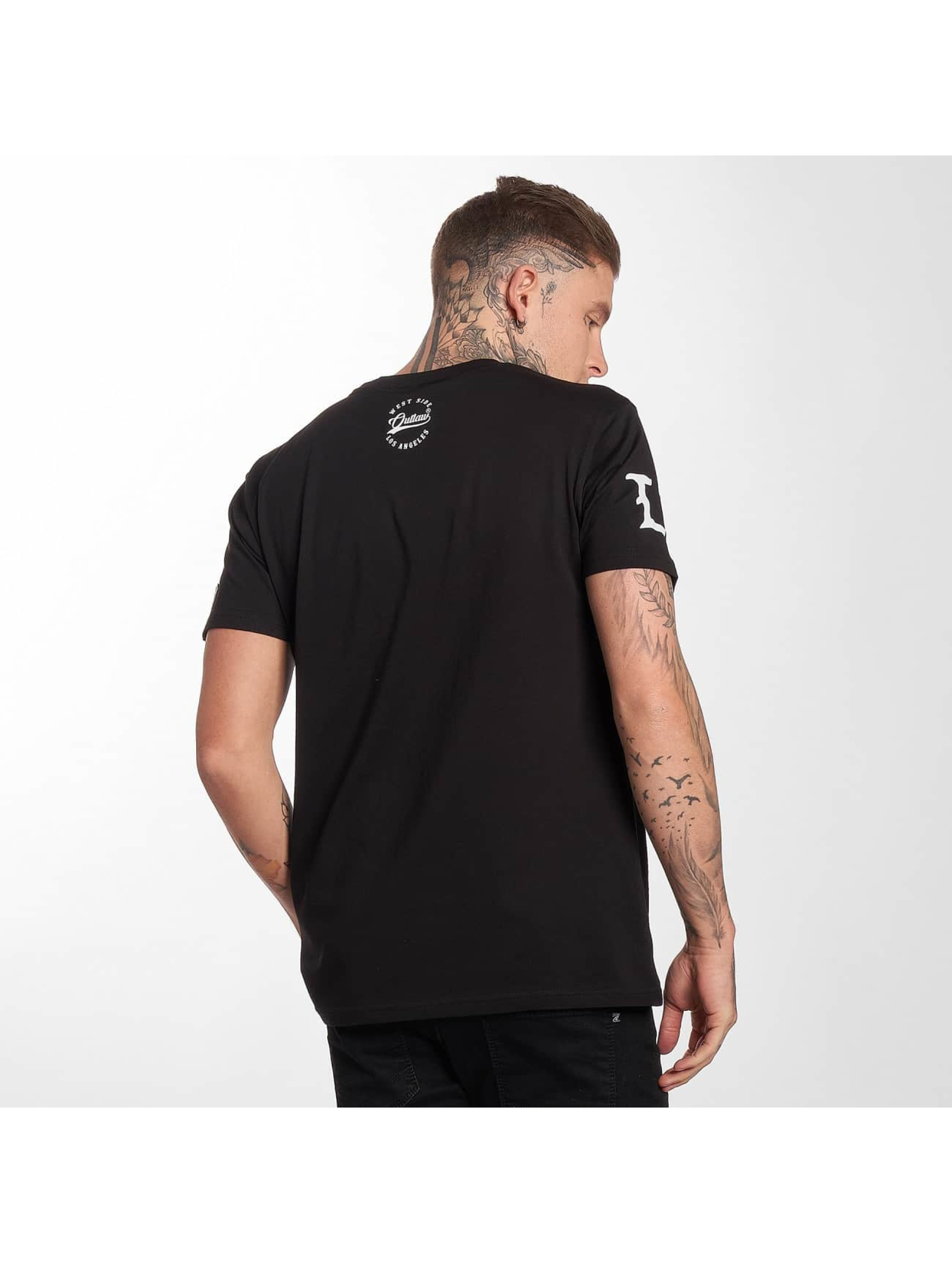 Outlaw T-Shirt Outlaw Customs noir
